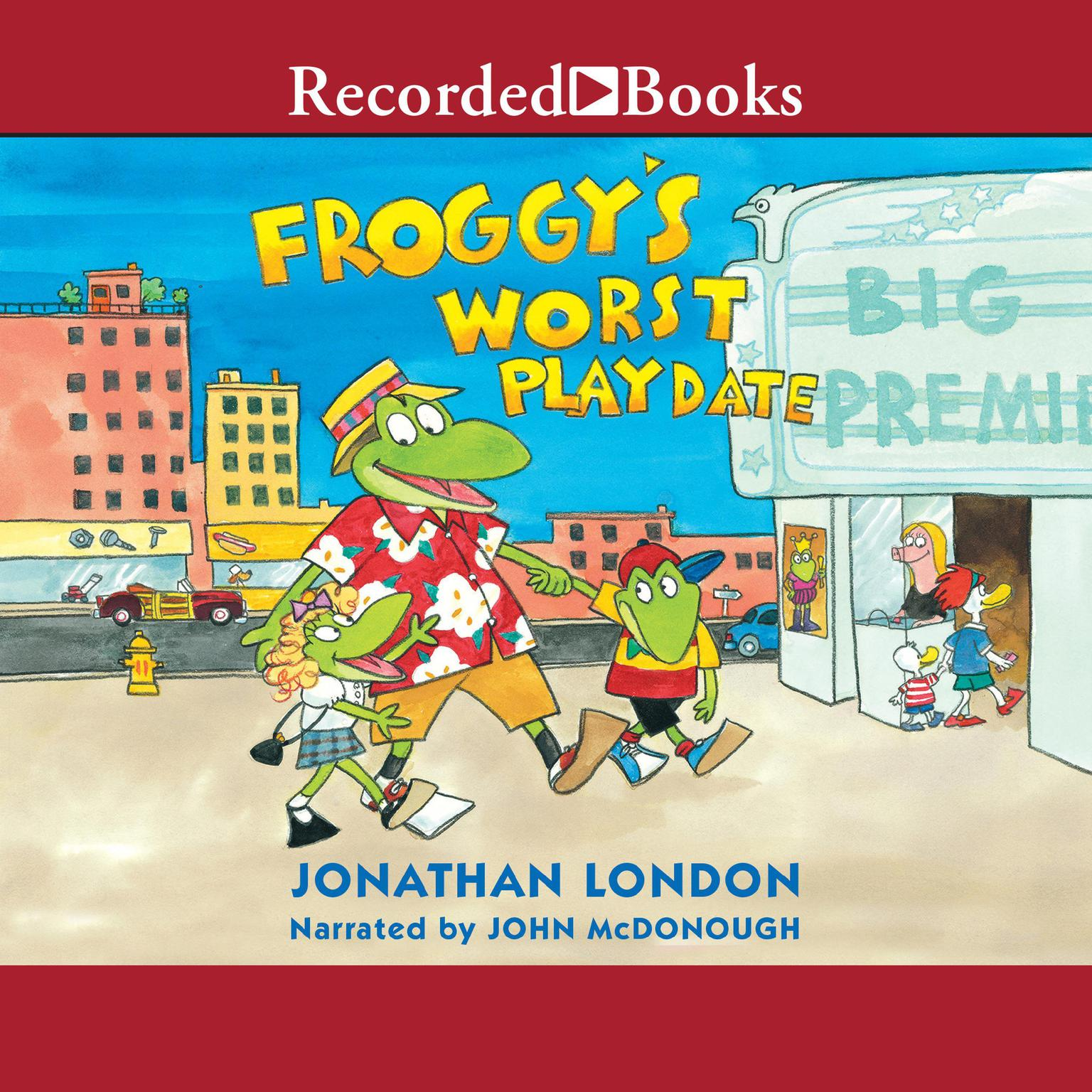 Printable Froggy's Worst Playdate Audiobook Cover Art