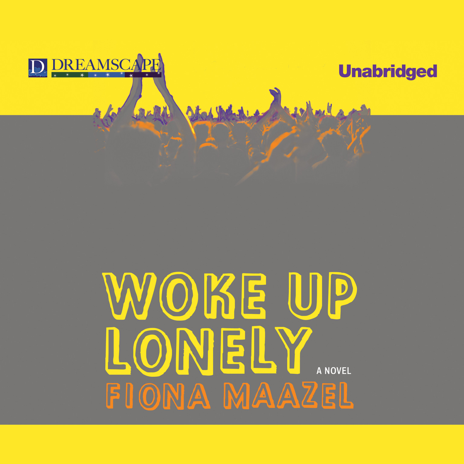 Printable Woke Up Lonely: A Novel Audiobook Cover Art