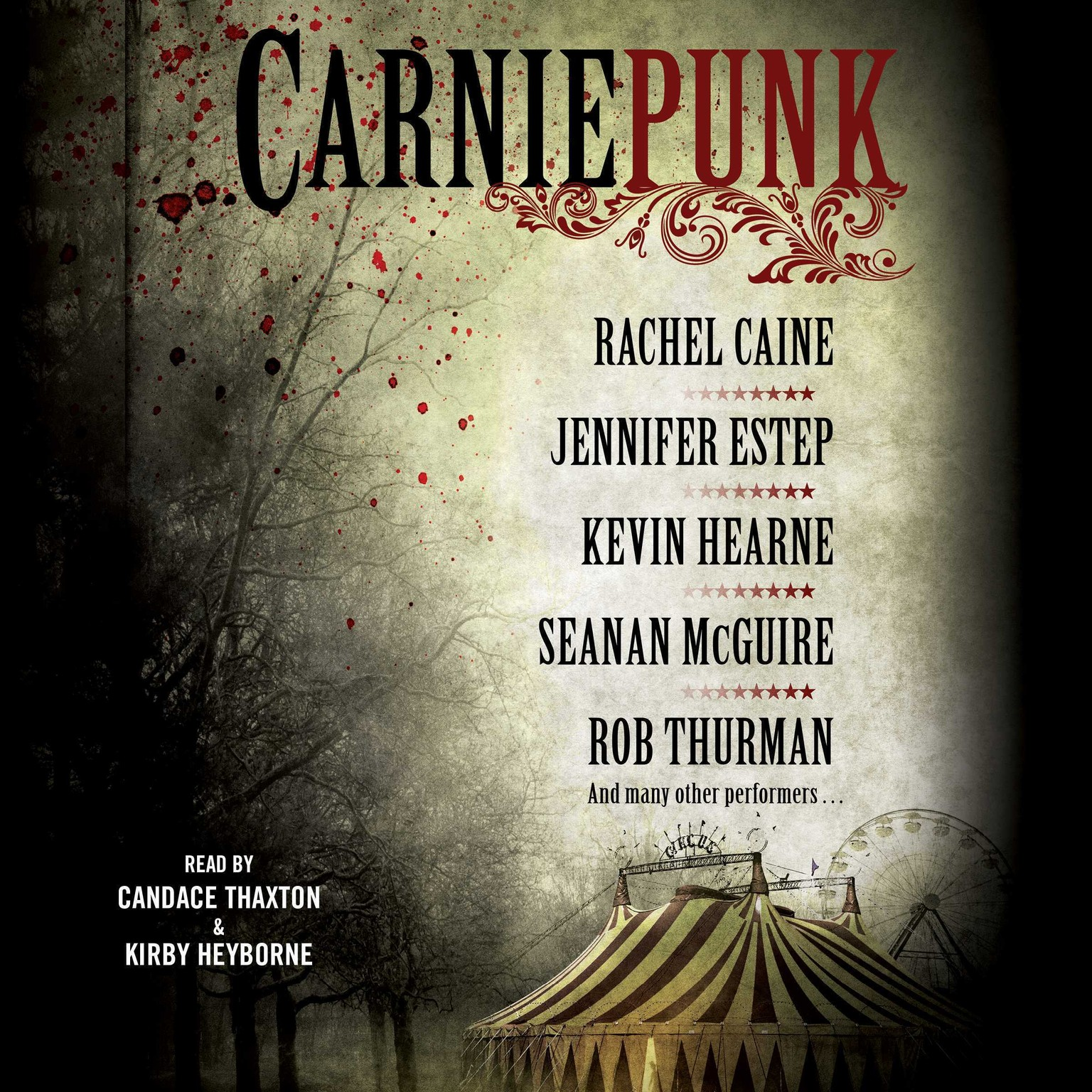 Printable Carniepunk Audiobook Cover Art