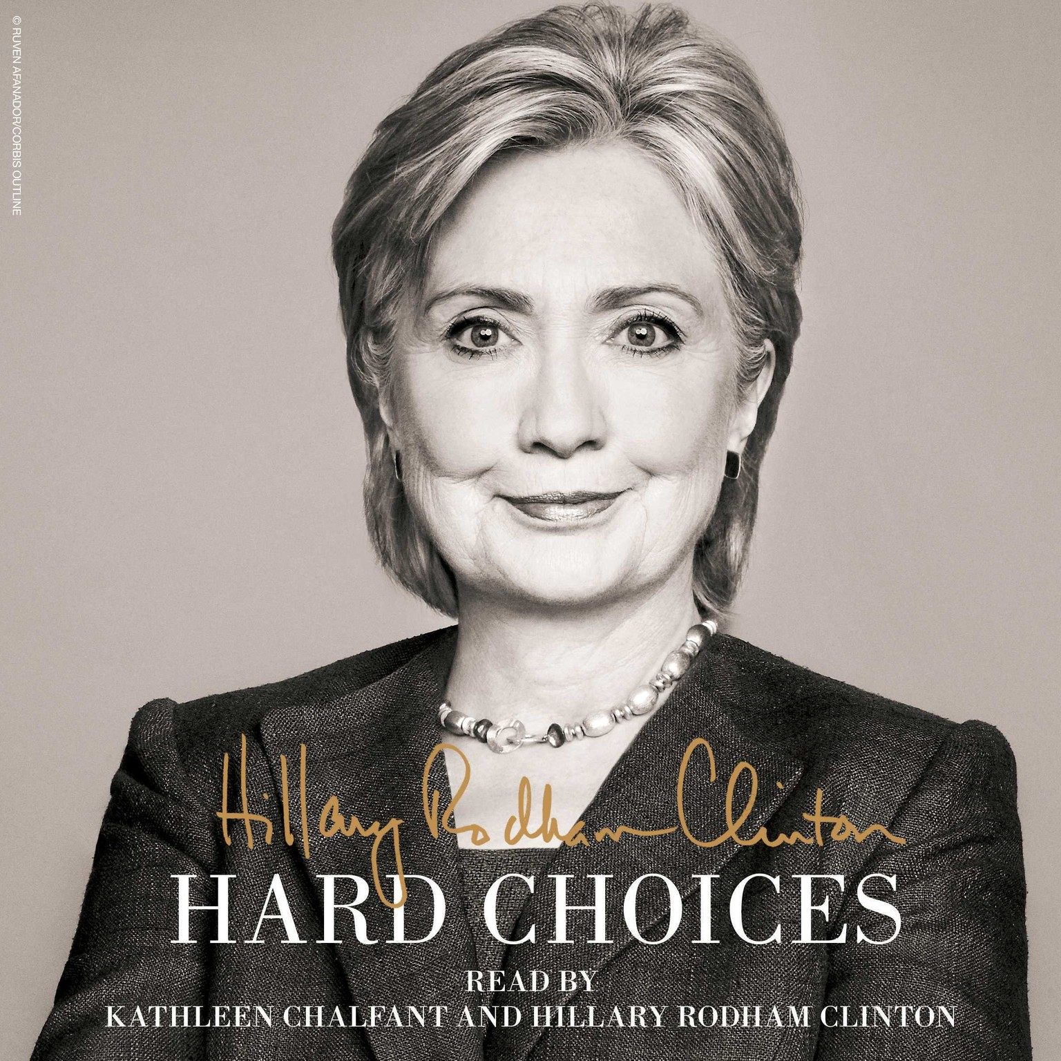 Printable Hard Choices: A Memoir Audiobook Cover Art