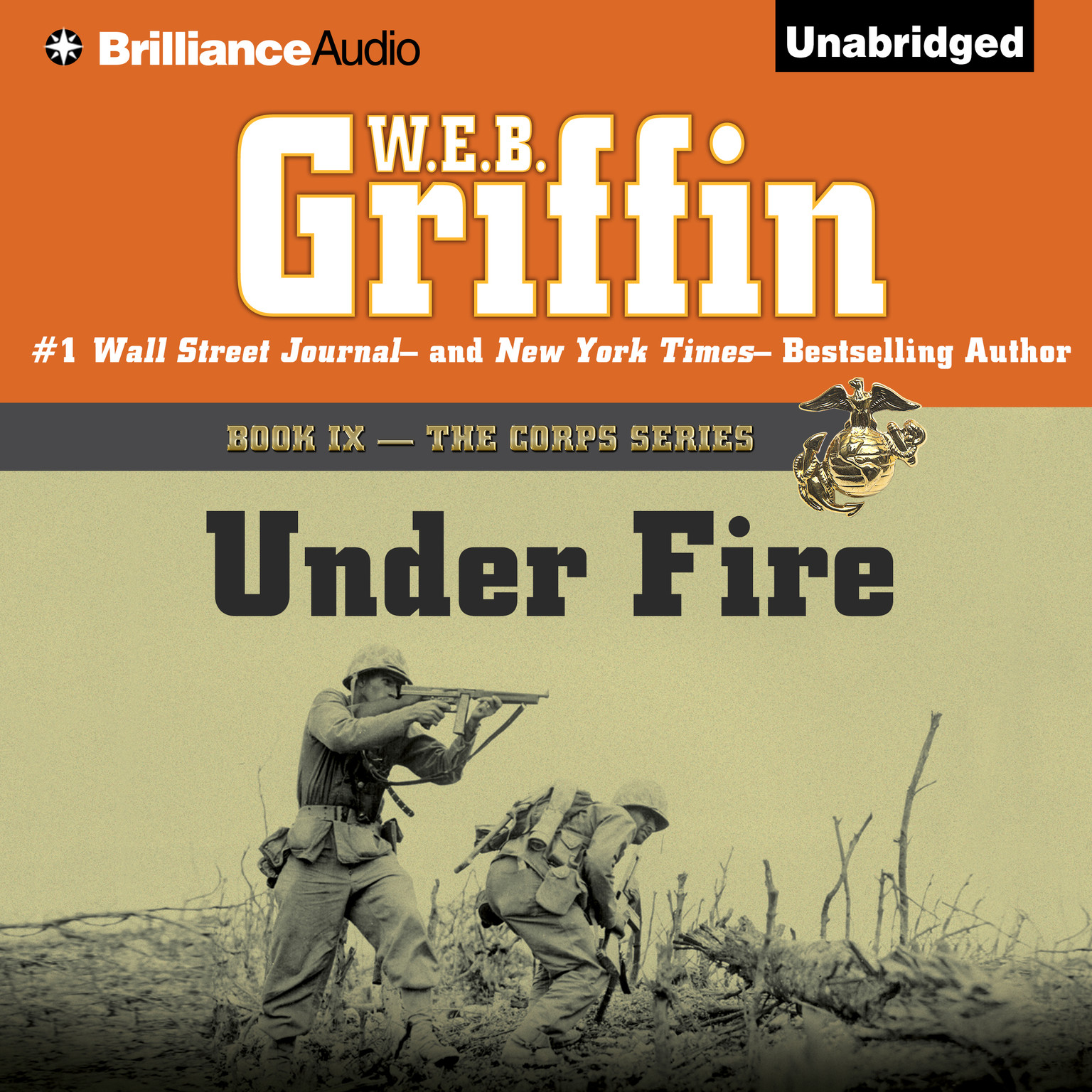 Printable Under Fire Audiobook Cover Art