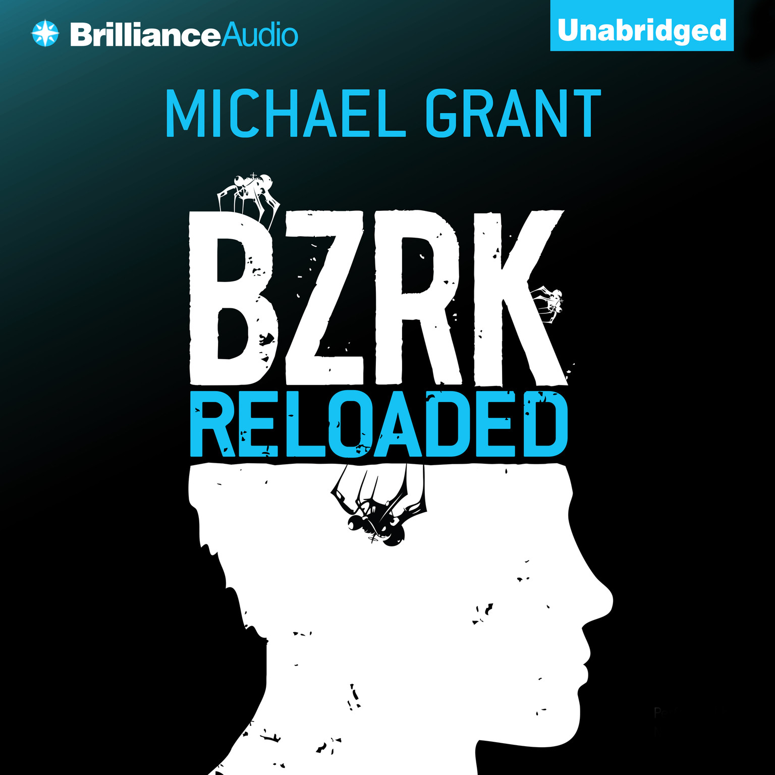 Printable BZRK Reloaded Audiobook Cover Art