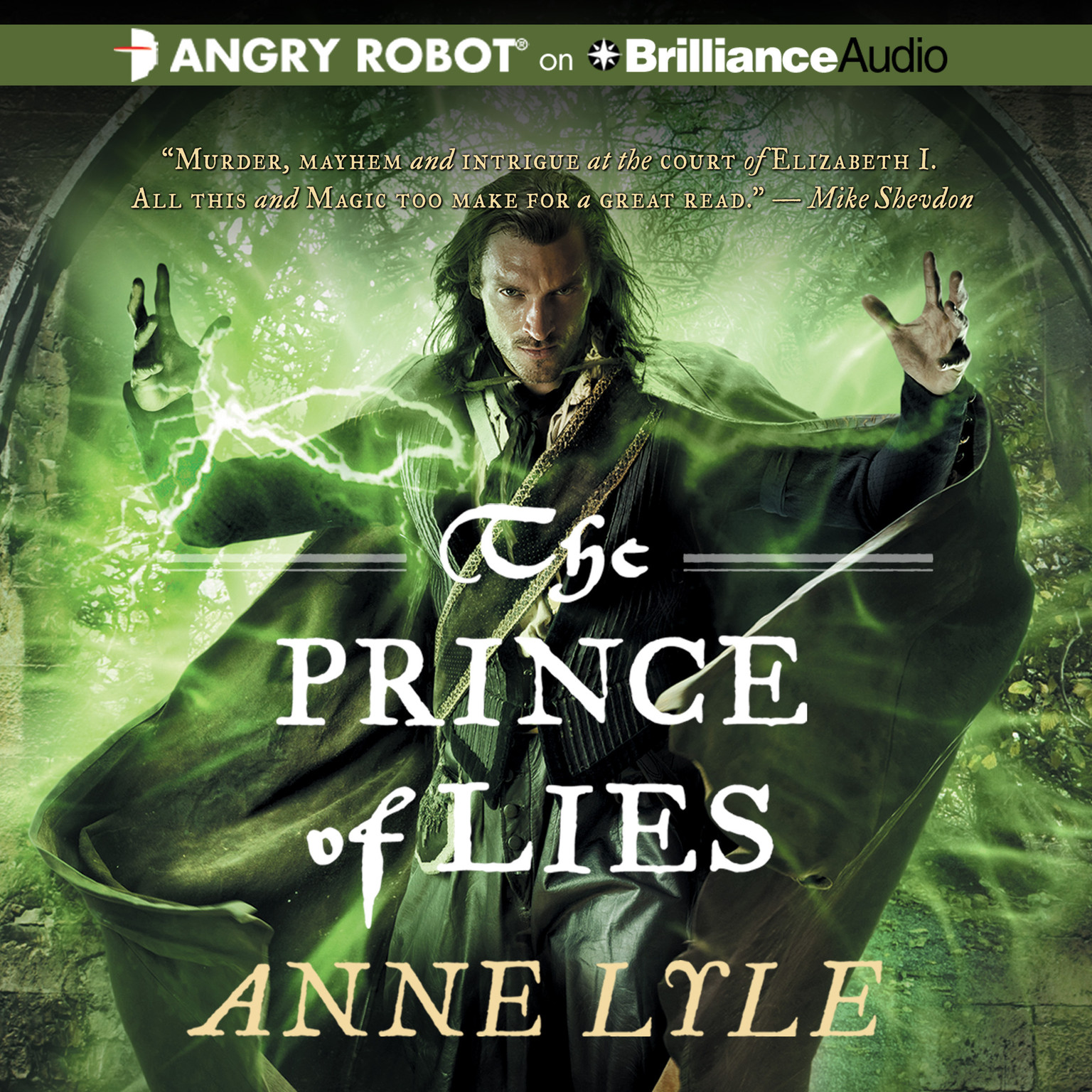 Printable The Prince of Lies Audiobook Cover Art