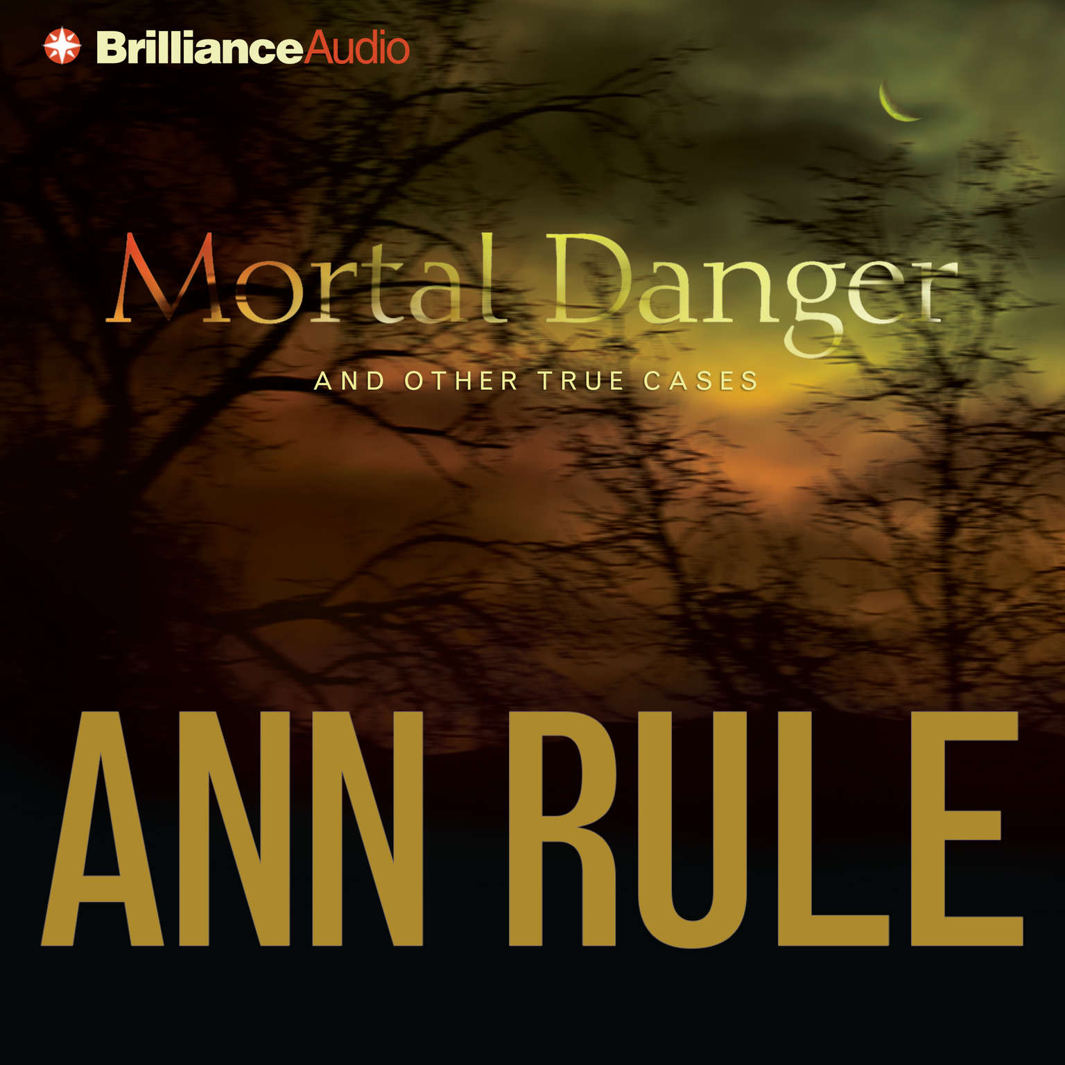 Printable Mortal Danger: And Other True Cases Audiobook Cover Art