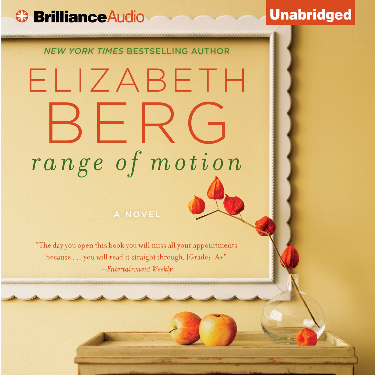 Printable Range of Motion Audiobook Cover Art