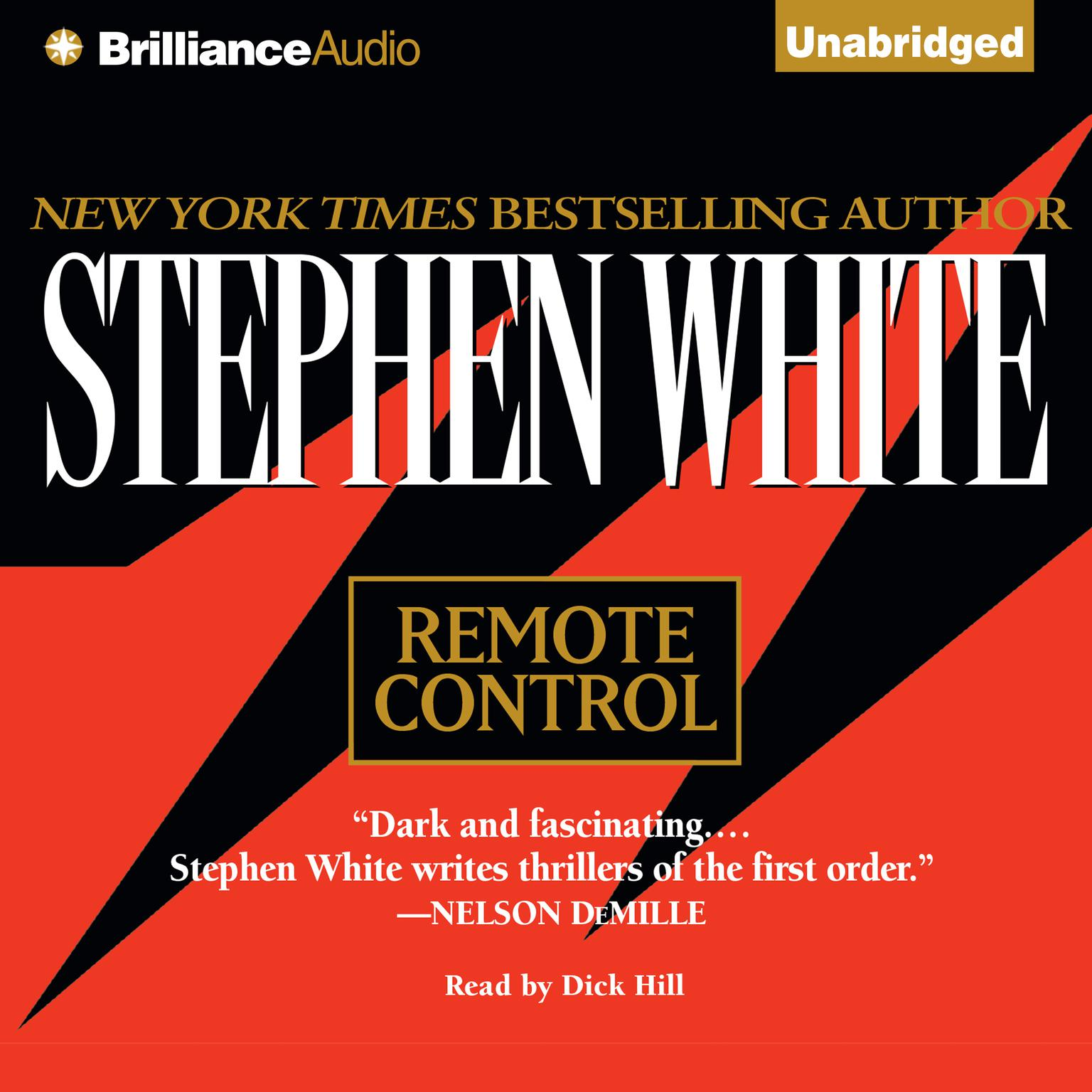 Printable Remote Control Audiobook Cover Art