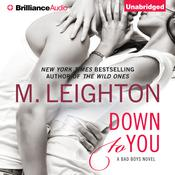 Down to You Audiobook, by M. Leighton