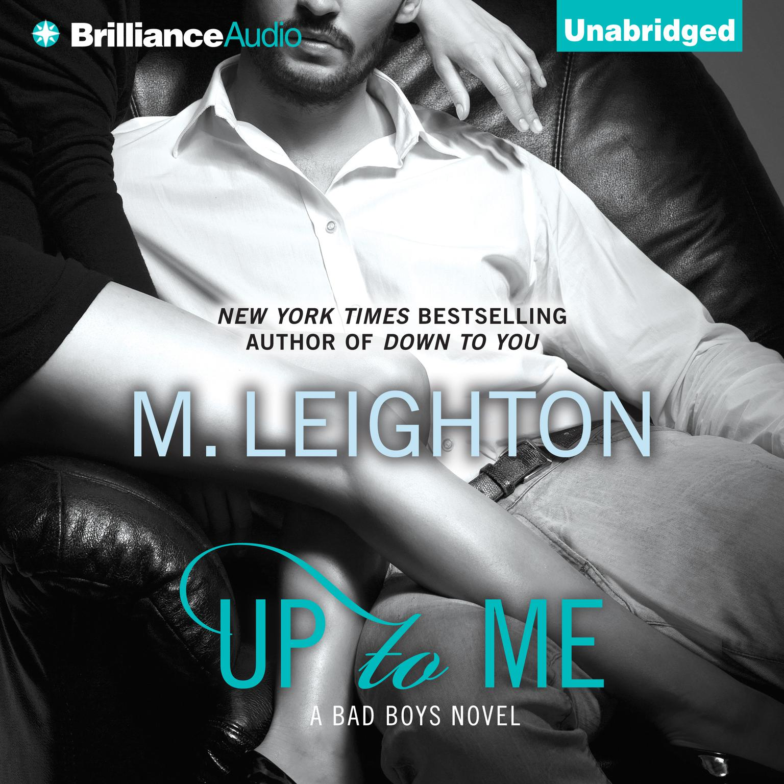 Printable Up to Me Audiobook Cover Art