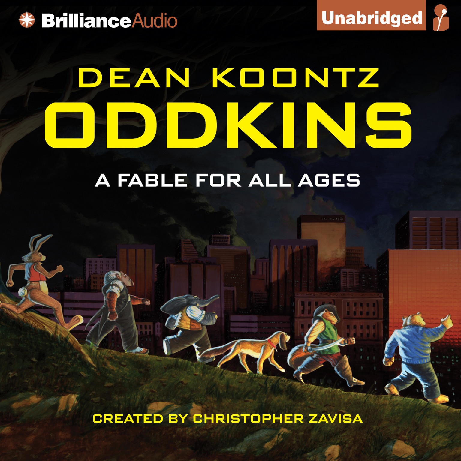 Printable Oddkins: A Fable for All Ages Audiobook Cover Art