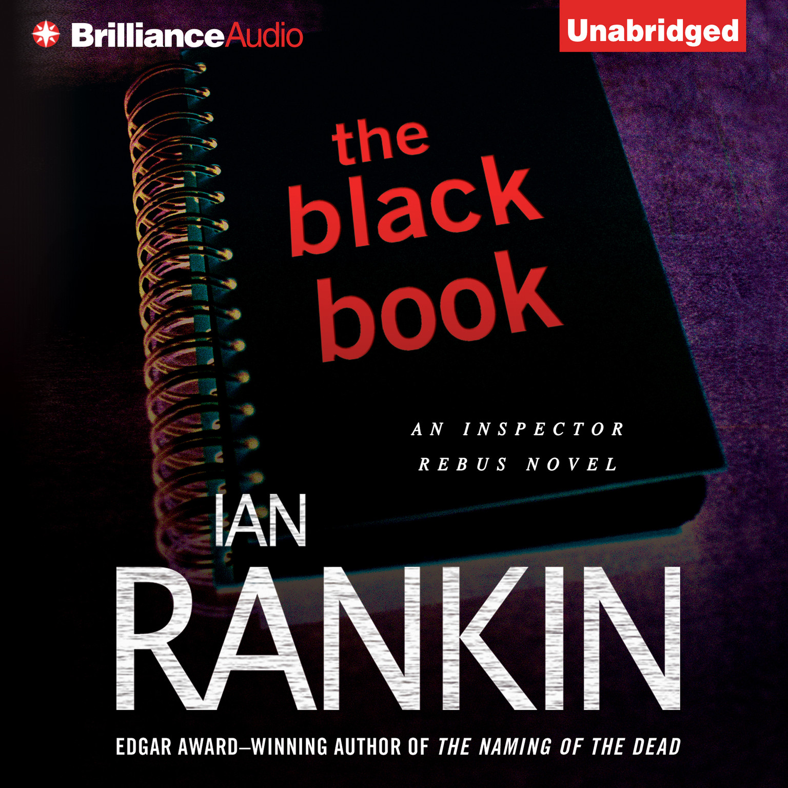 Printable The Black Book Audiobook Cover Art