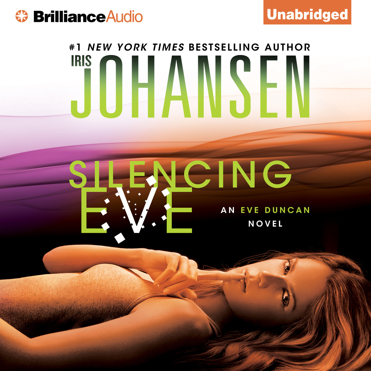 Printable Silencing Eve Audiobook Cover Art