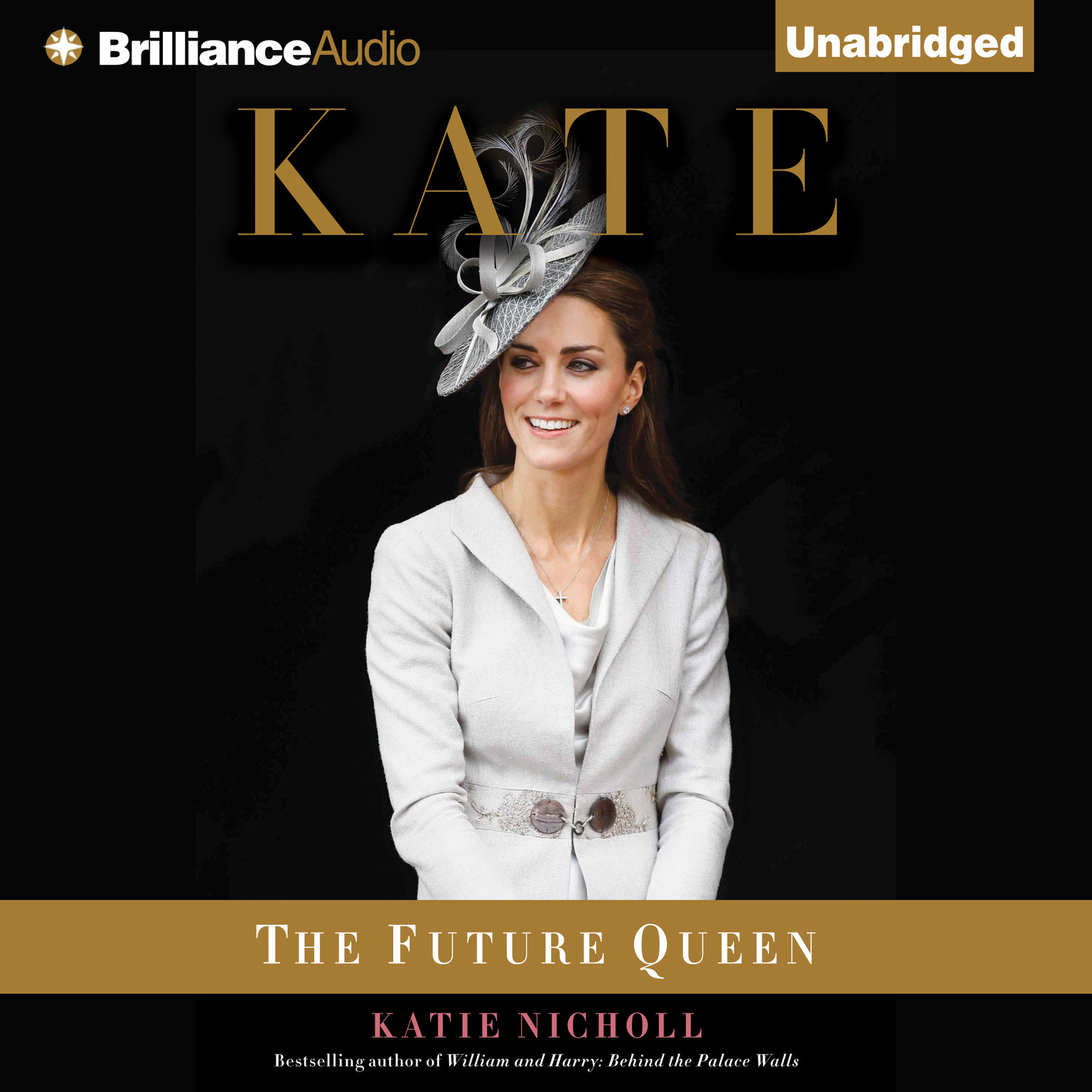 Printable Kate: The Future Queen Audiobook Cover Art