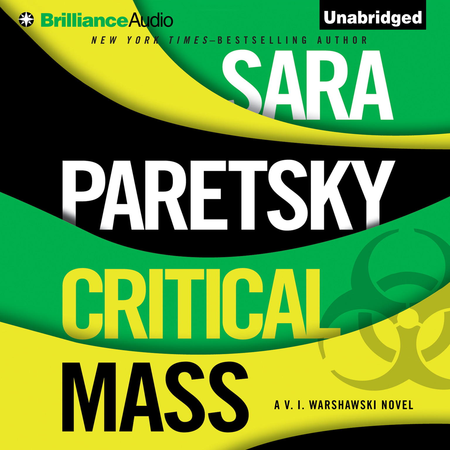 Printable Critical Mass Audiobook Cover Art