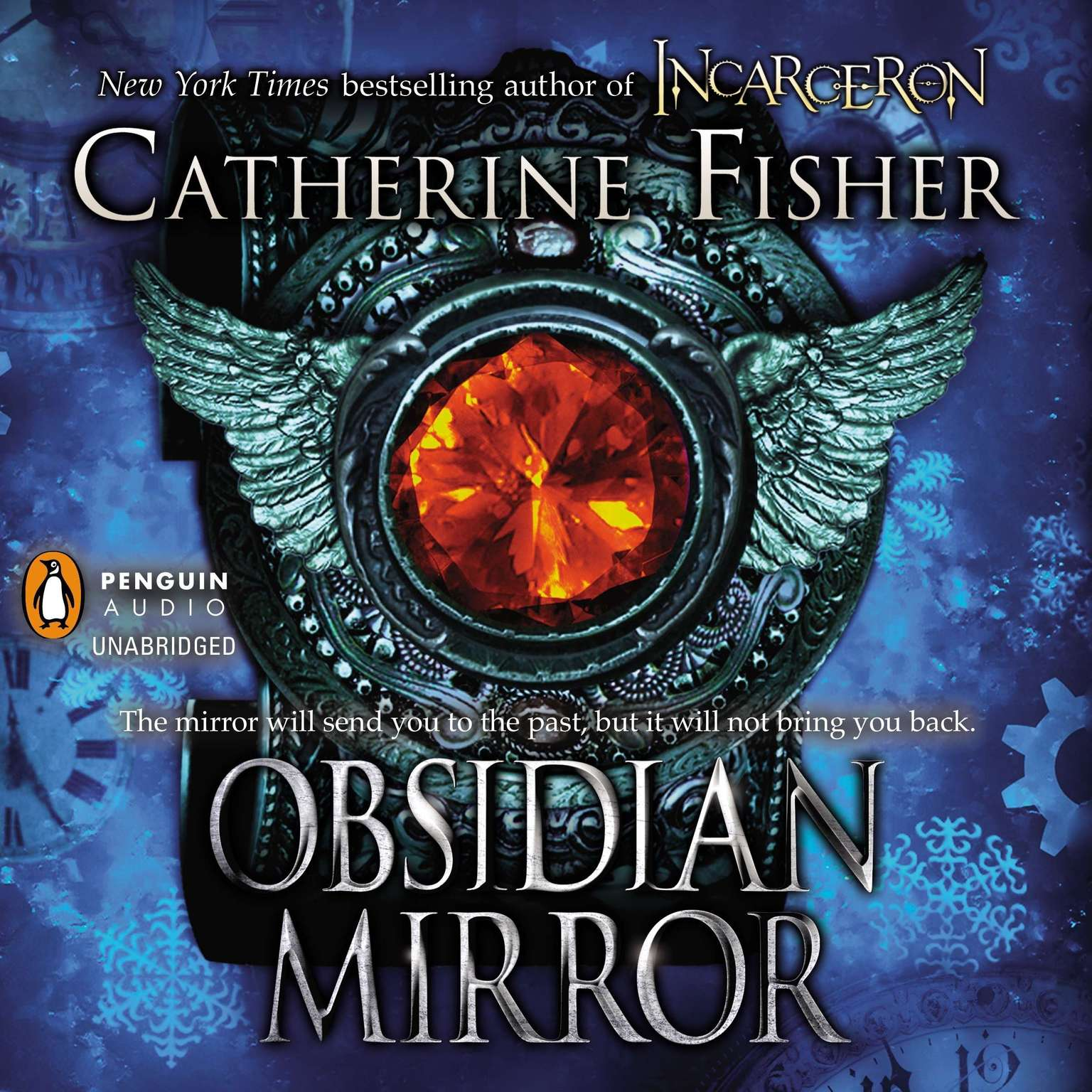 Printable Obsidian Mirror Audiobook Cover Art