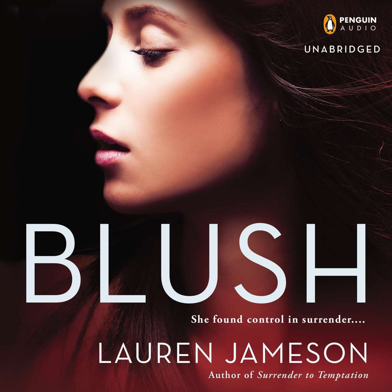 Printable Blush Audiobook Cover Art