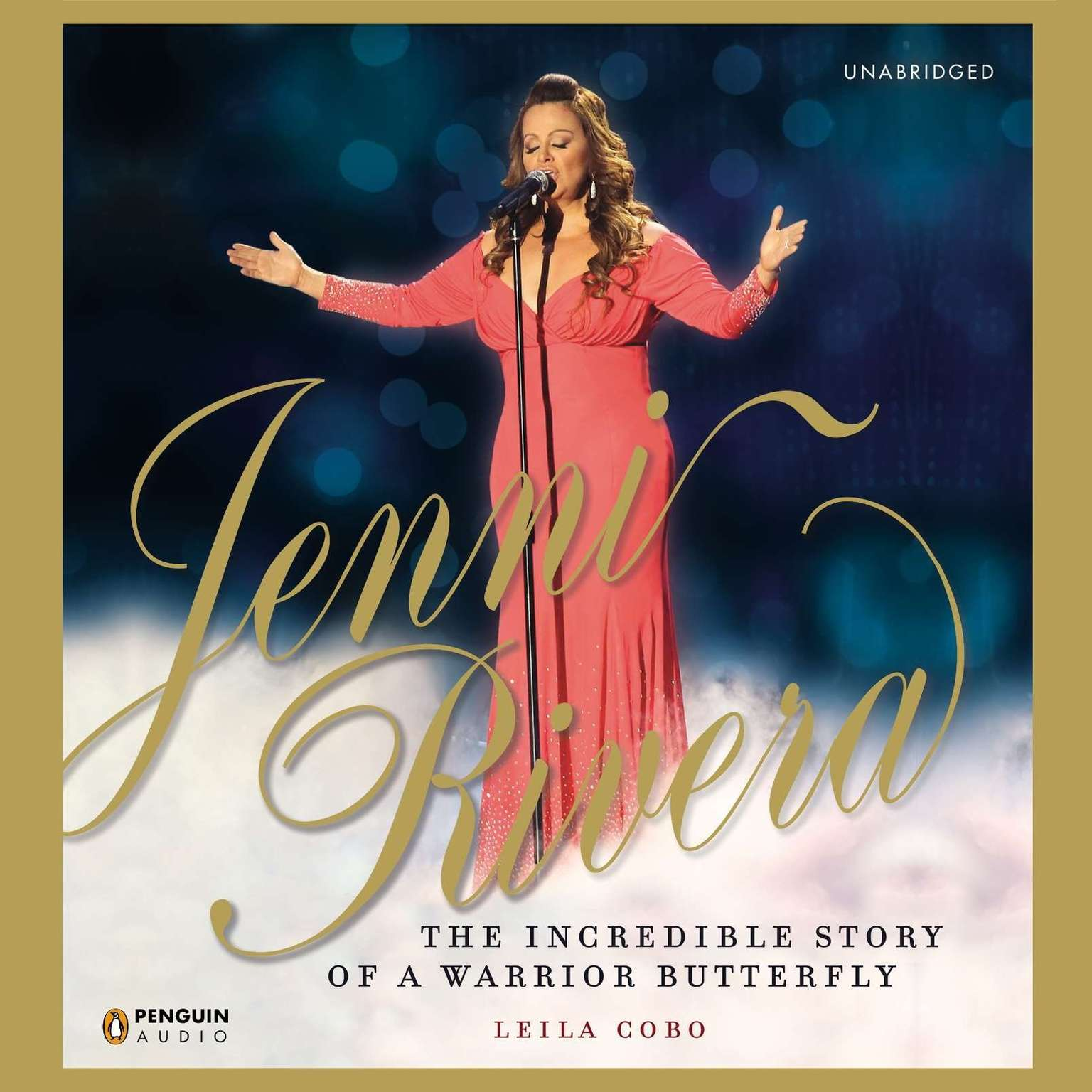 Printable Jenni Rivera: The Incredible Story of a Warrior Butterfly Audiobook Cover Art