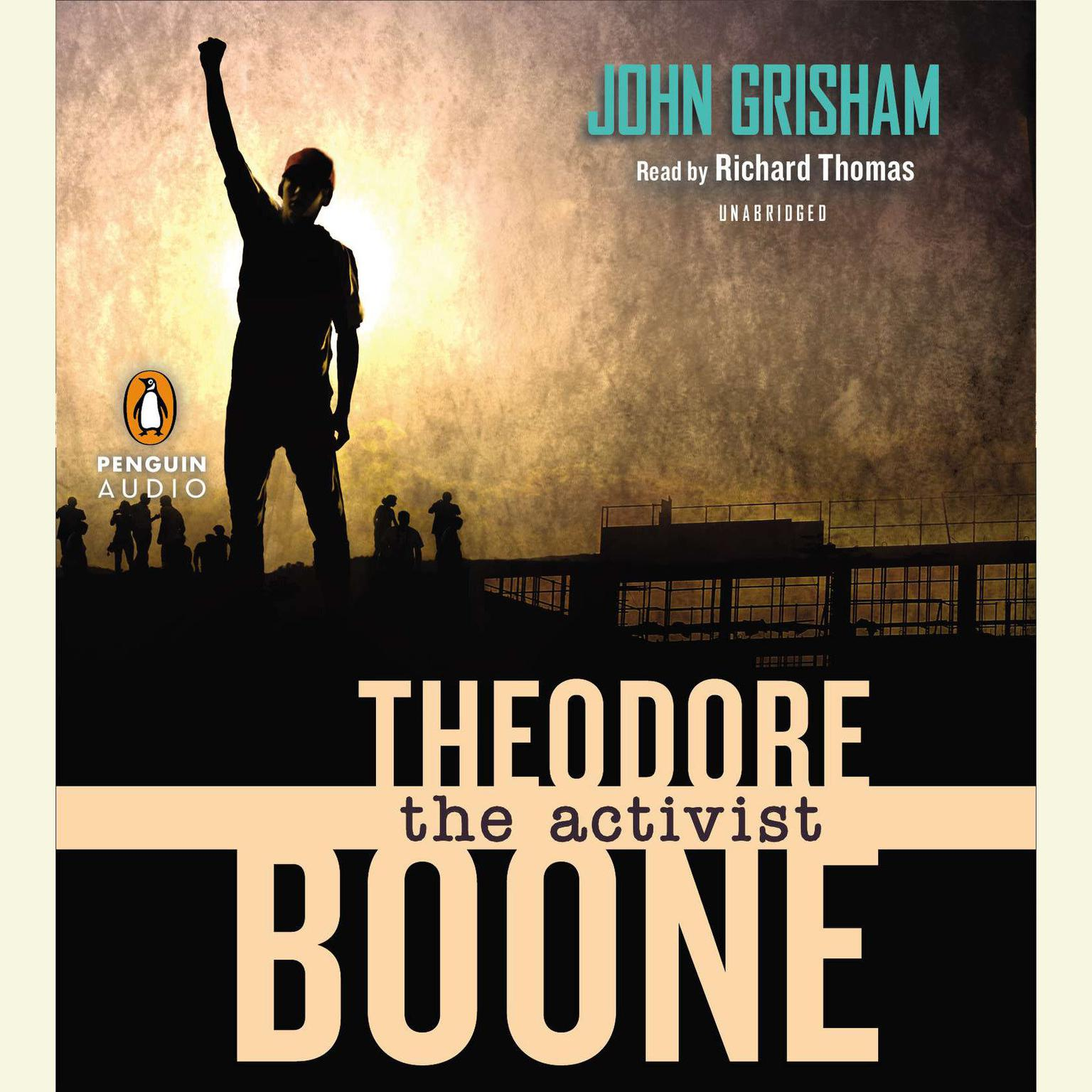 Printable Theodore Boone: The Activist Audiobook Cover Art