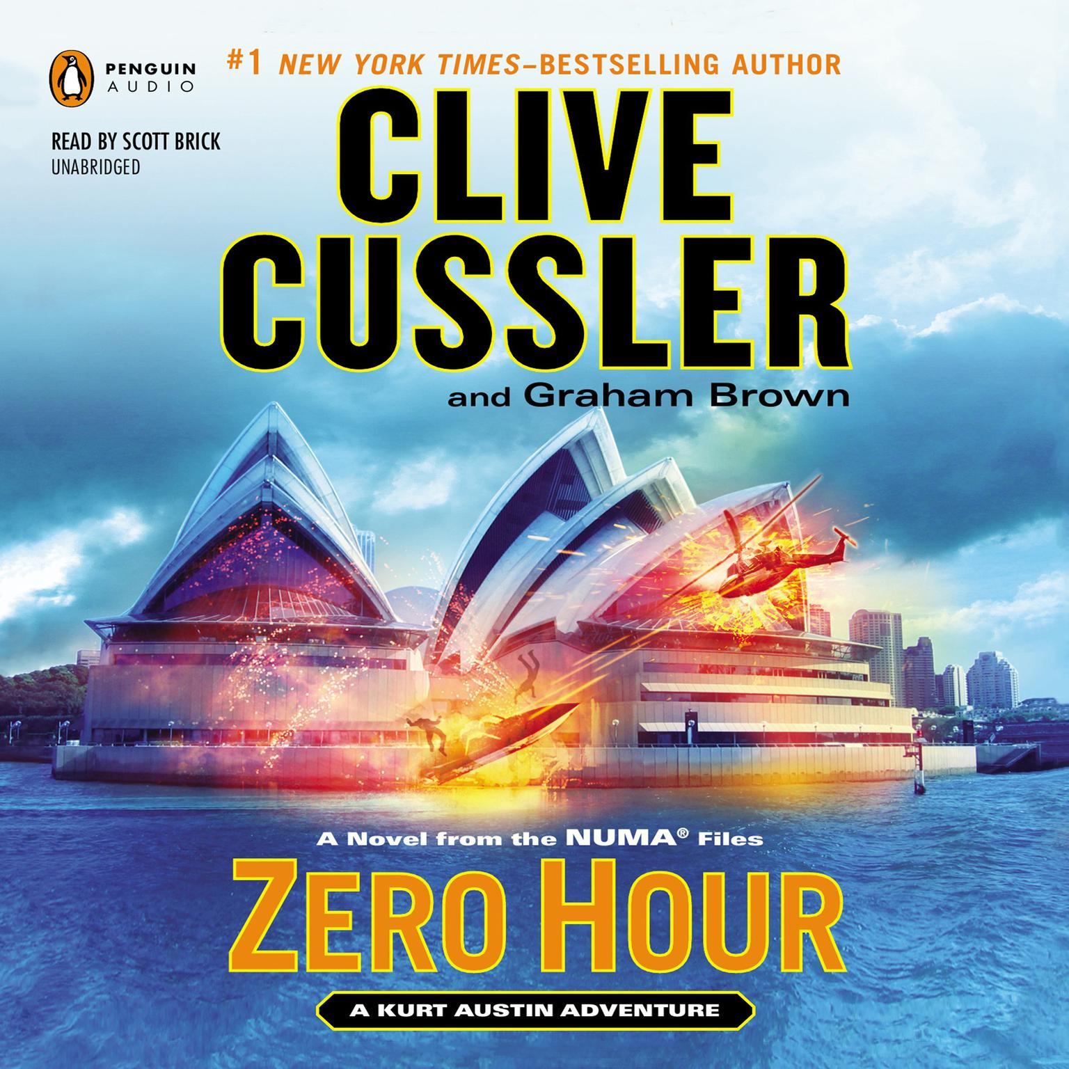 Printable Zero Hour Audiobook Cover Art
