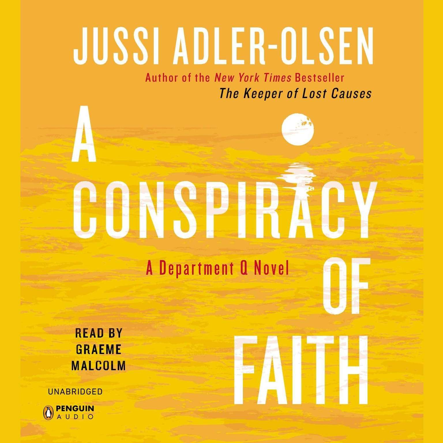 Printable A Conspiracy of Faith Audiobook Cover Art
