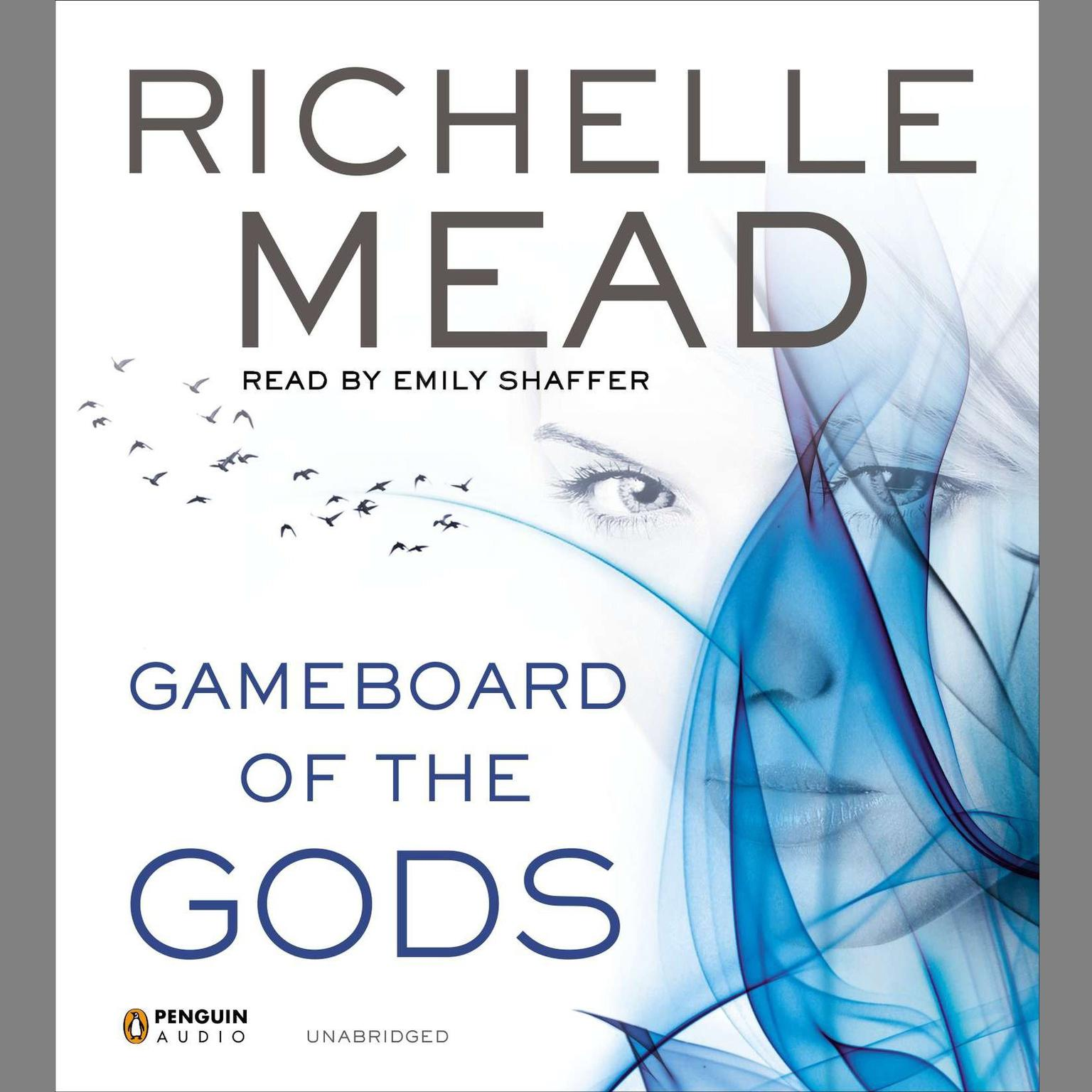 Printable Gameboard of the Gods Audiobook Cover Art