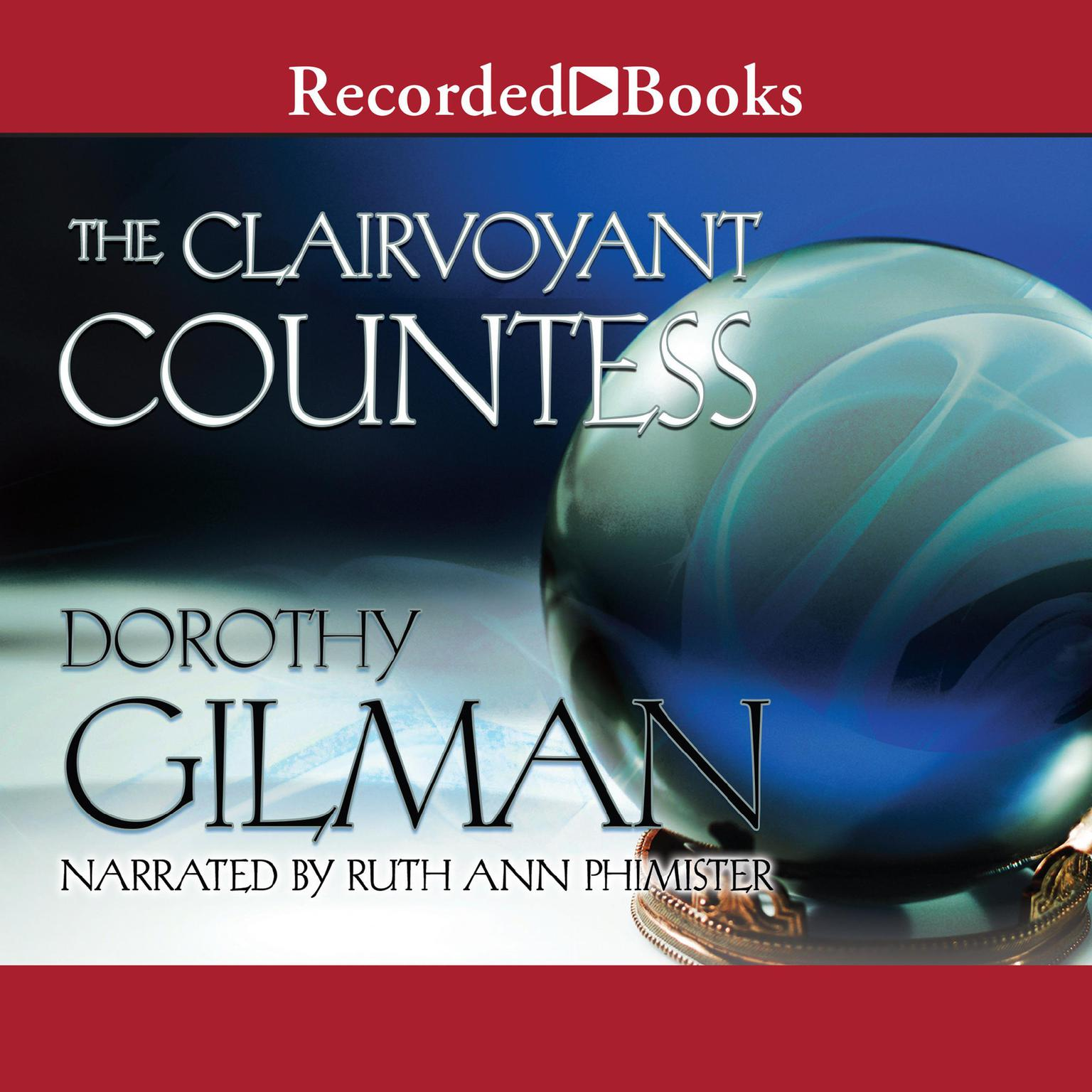 Printable The Clairvoyant Countess Audiobook Cover Art