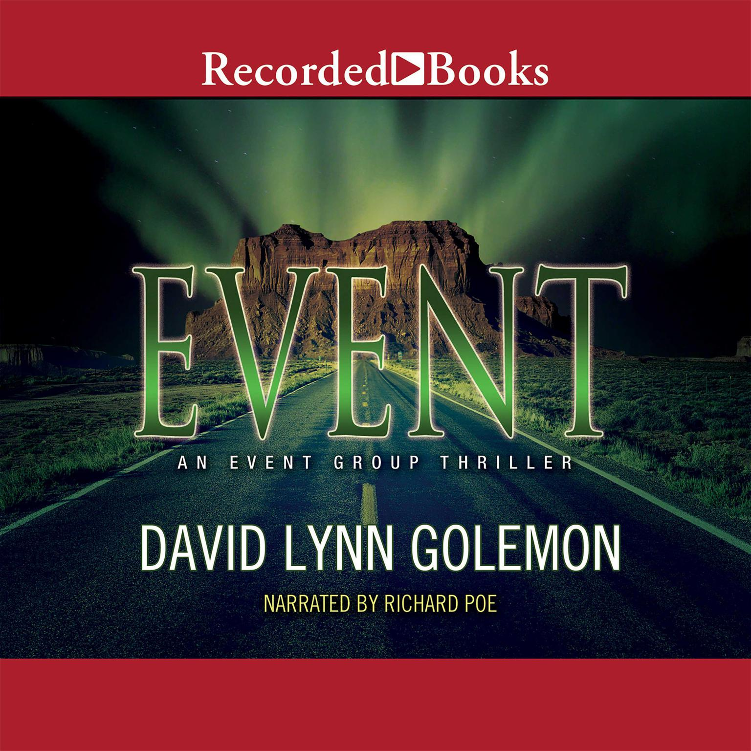 Printable Event Audiobook Cover Art