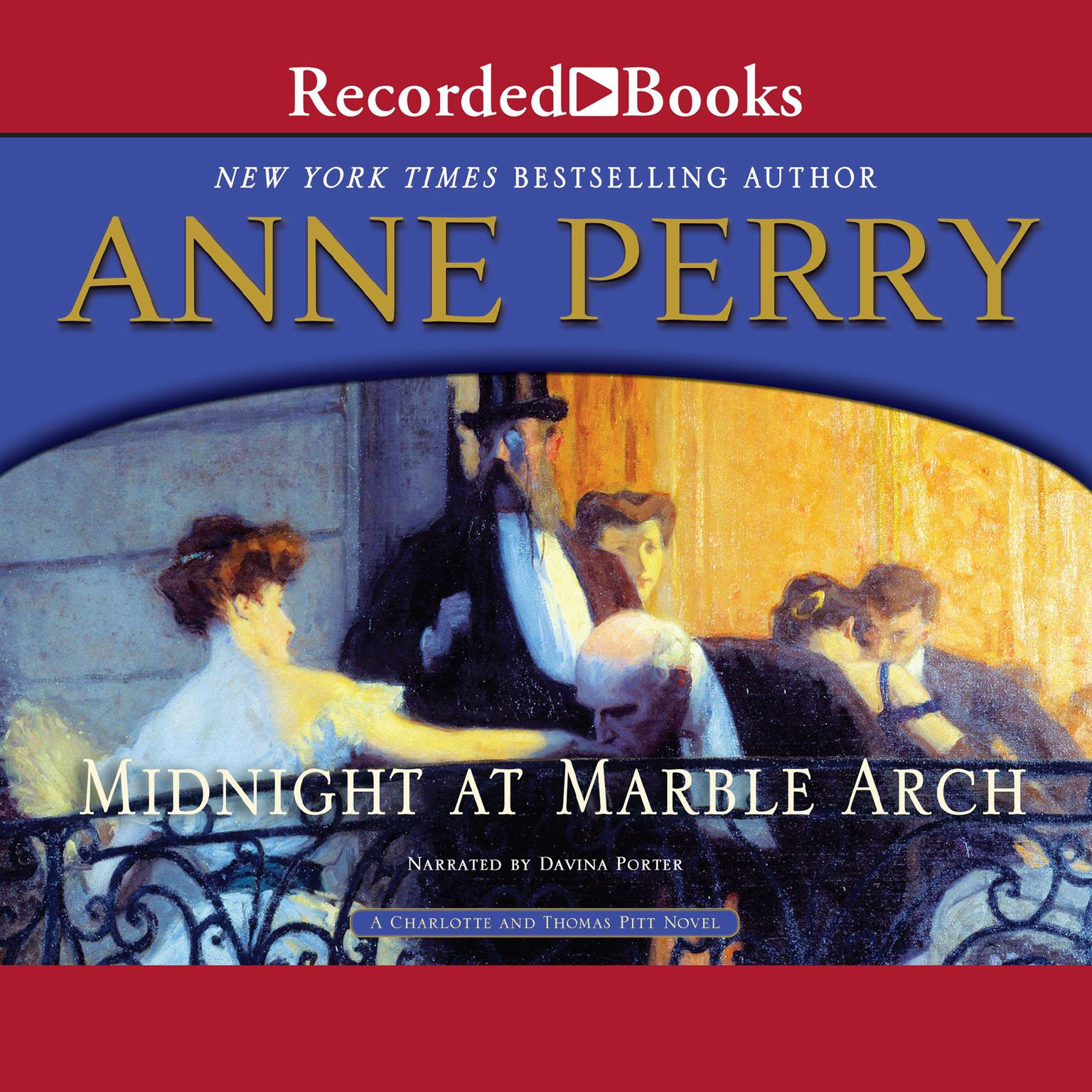 Printable Midnight at Marble Arch Audiobook Cover Art