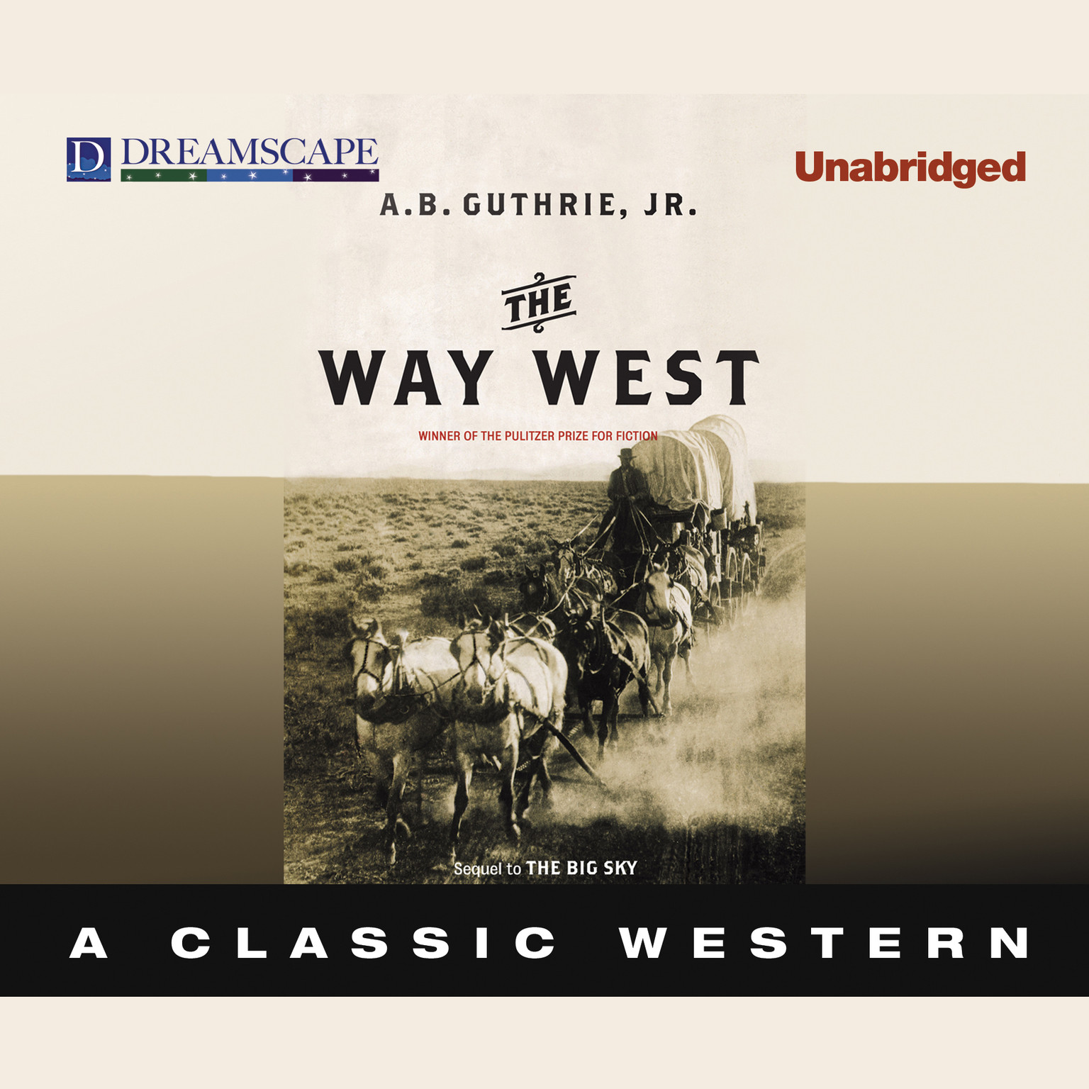 Printable The Way West Audiobook Cover Art