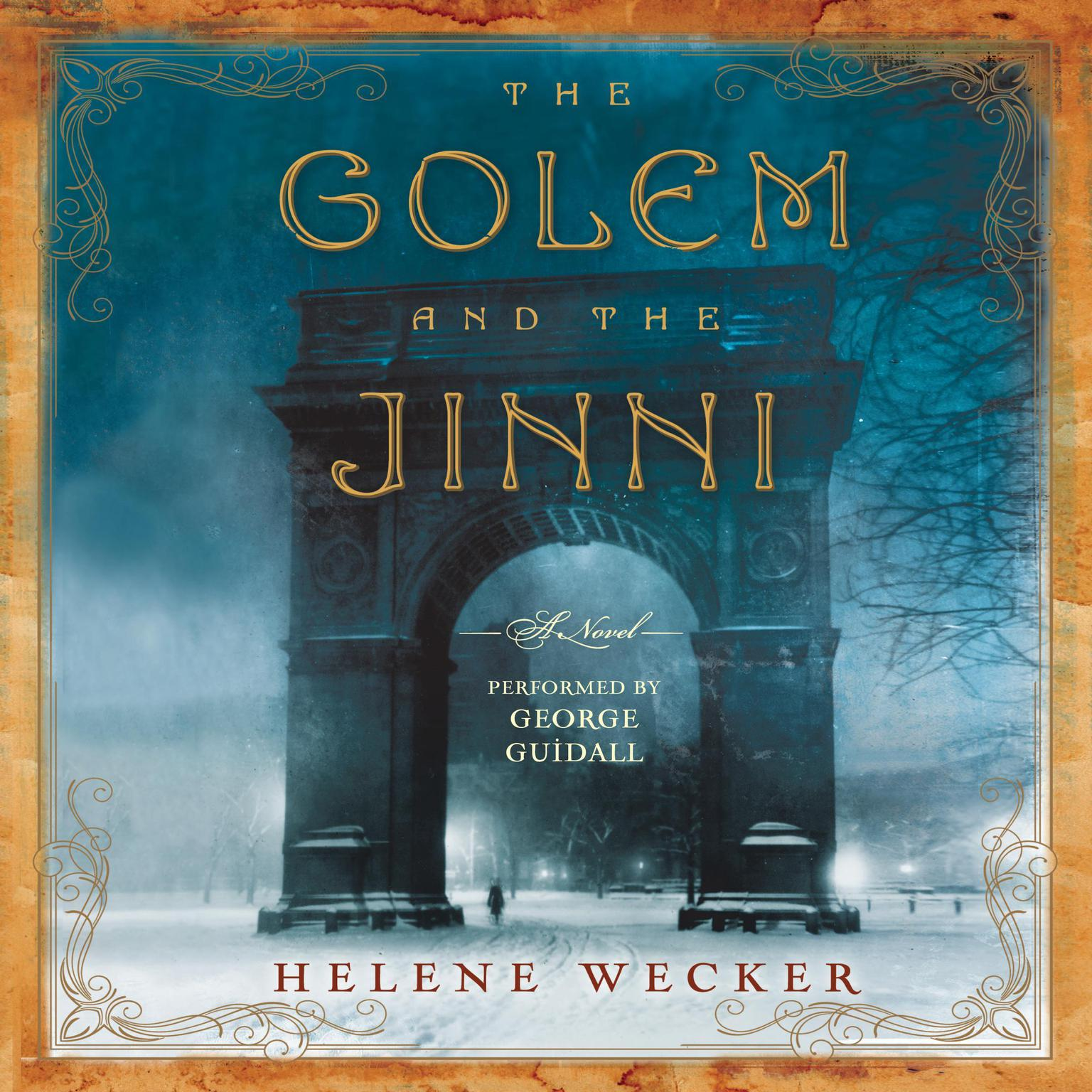 Printable The Golem and the Jinni: A Novel Audiobook Cover Art