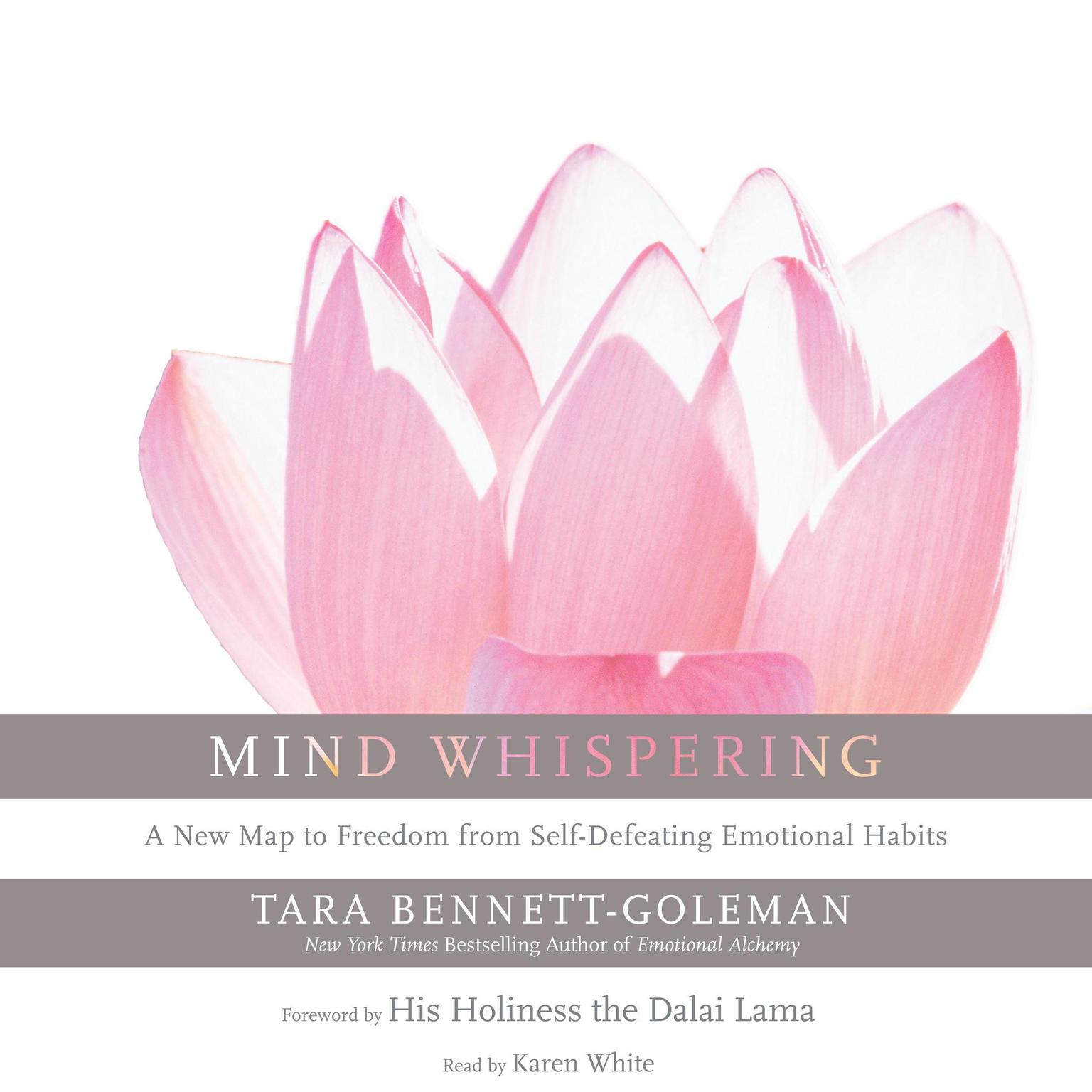 Printable Mind Whispering: A New Map to Freedom from Self-Defeating Emotional Habits Audiobook Cover Art