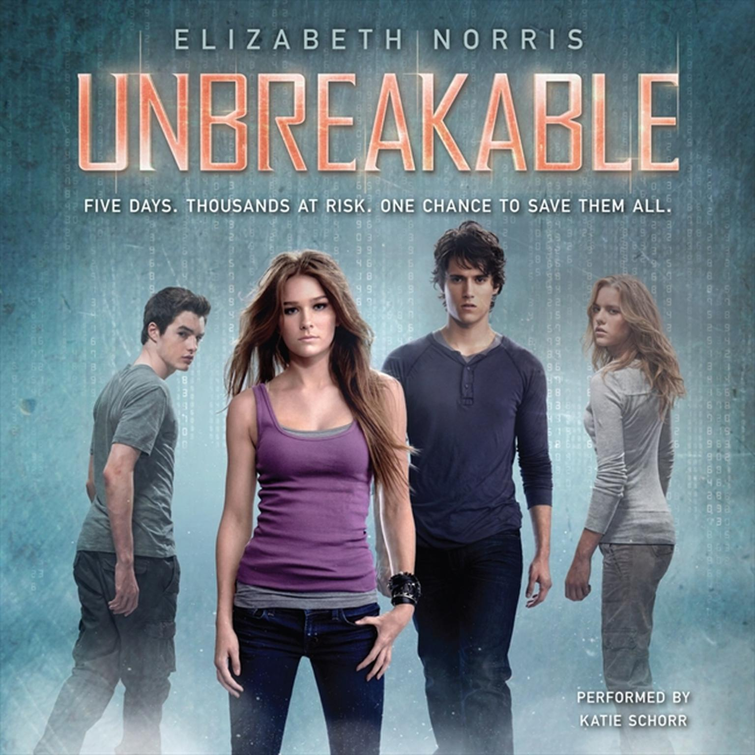 Printable Unbreakable Audiobook Cover Art