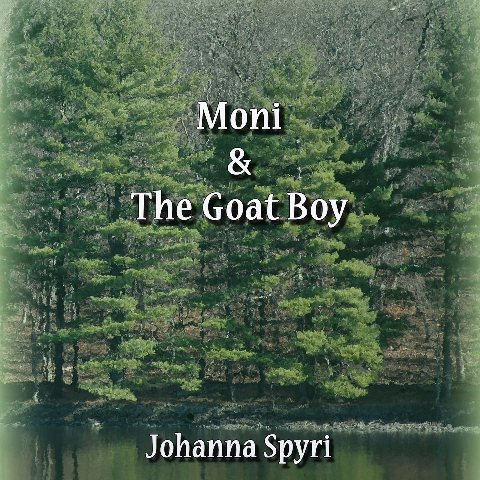 Printable Moni and the Goat Boy Audiobook Cover Art