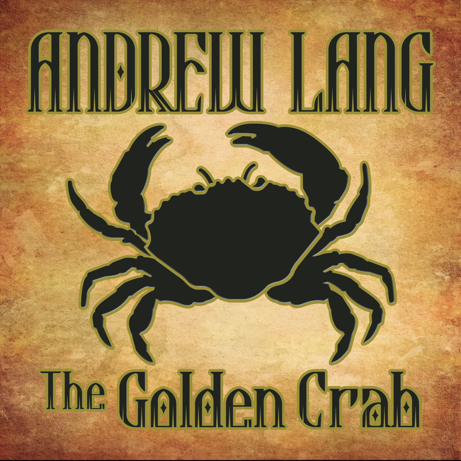 Printable The Golden Crab Audiobook Cover Art