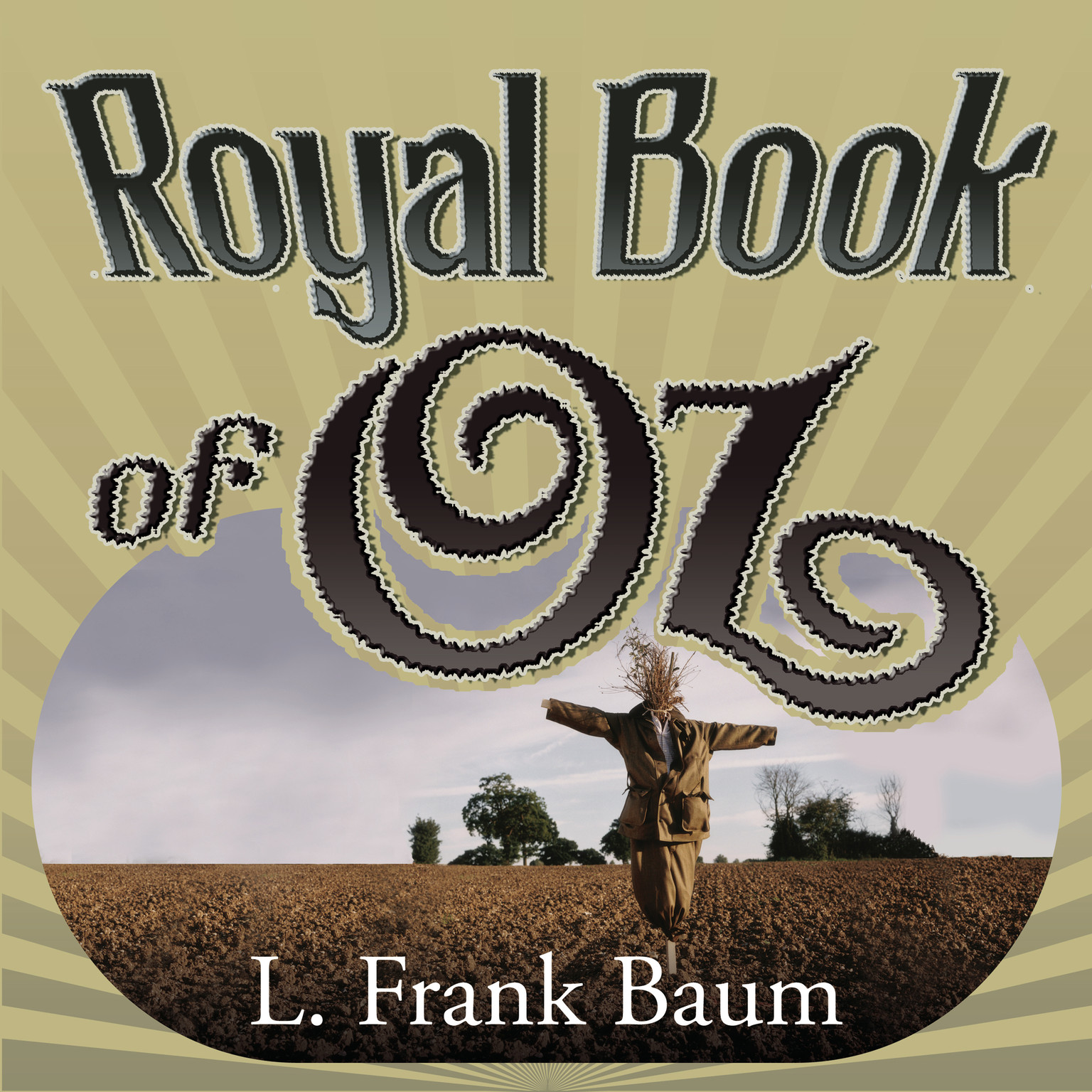 Printable The Royal Book of Oz Audiobook Cover Art