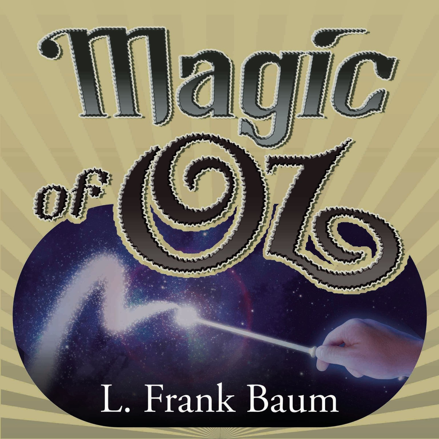 Printable Magic of Oz Audiobook Cover Art