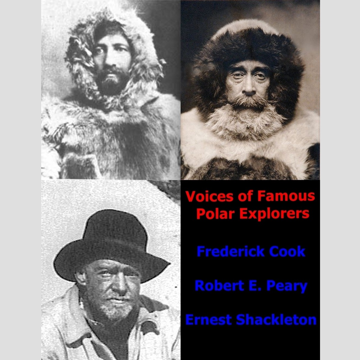 Printable Voices of Famous Polar Explorers Audiobook Cover Art