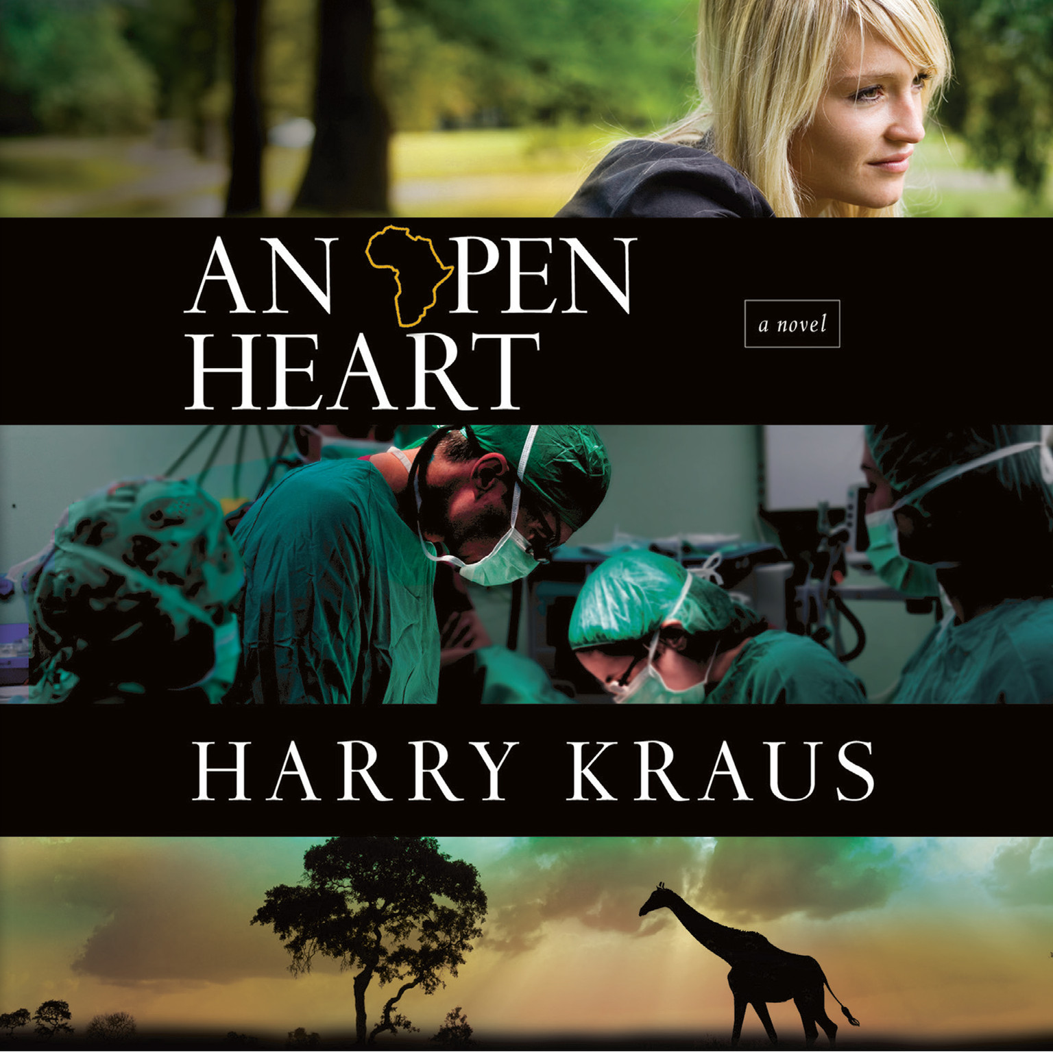 Printable An Open Heart Audiobook Cover Art