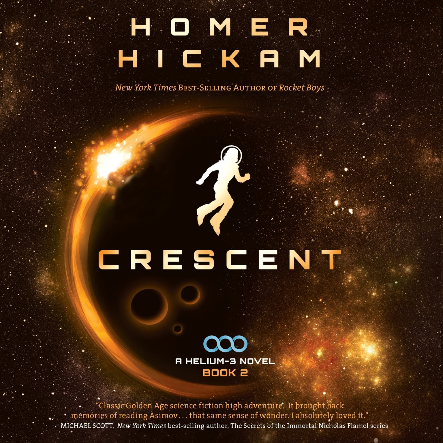 Printable Crescent Audiobook Cover Art