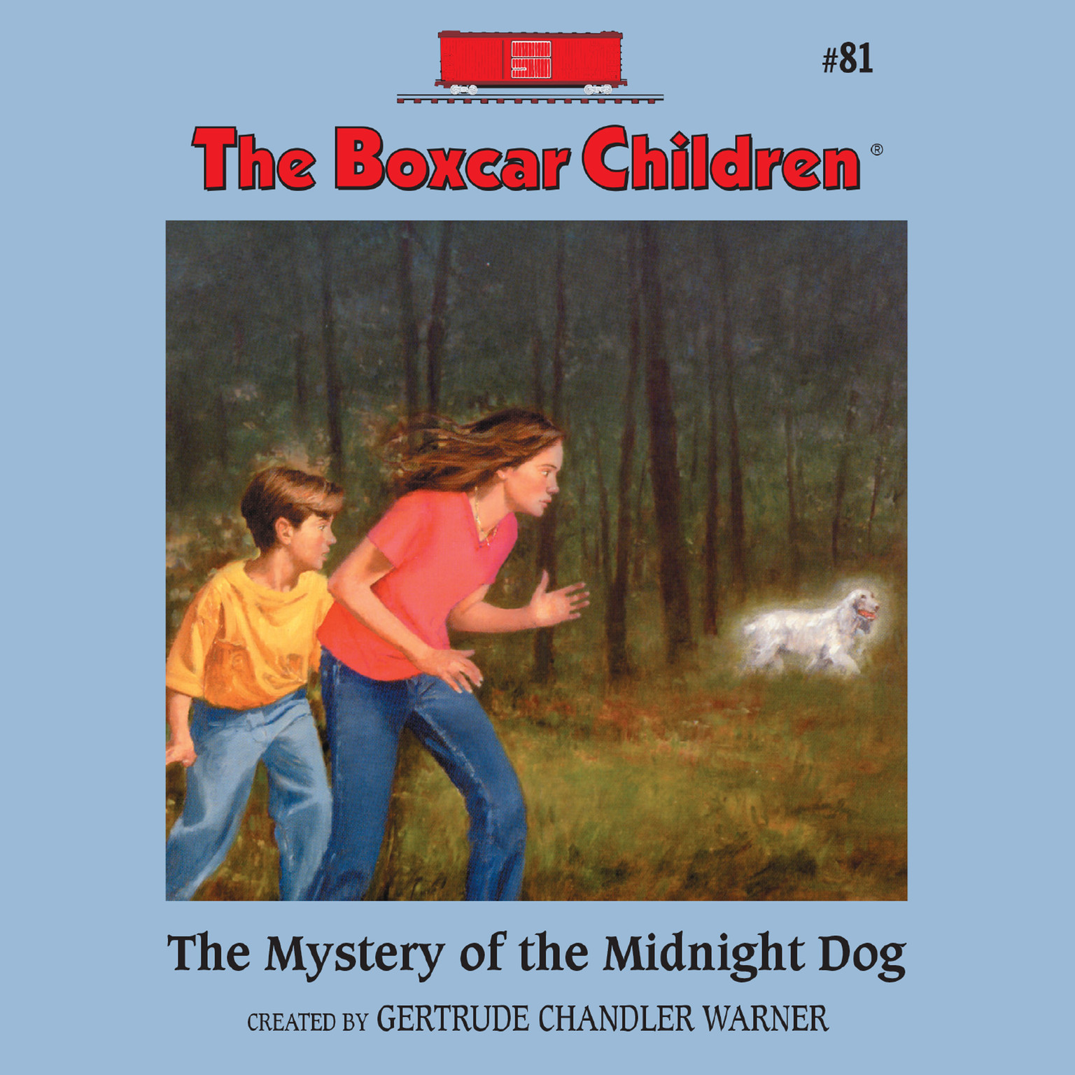Printable The Mystery of the Midnight Dog Audiobook Cover Art