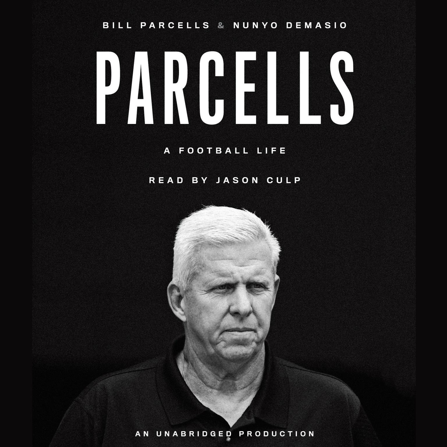 Printable Parcells: A Football Life Audiobook Cover Art
