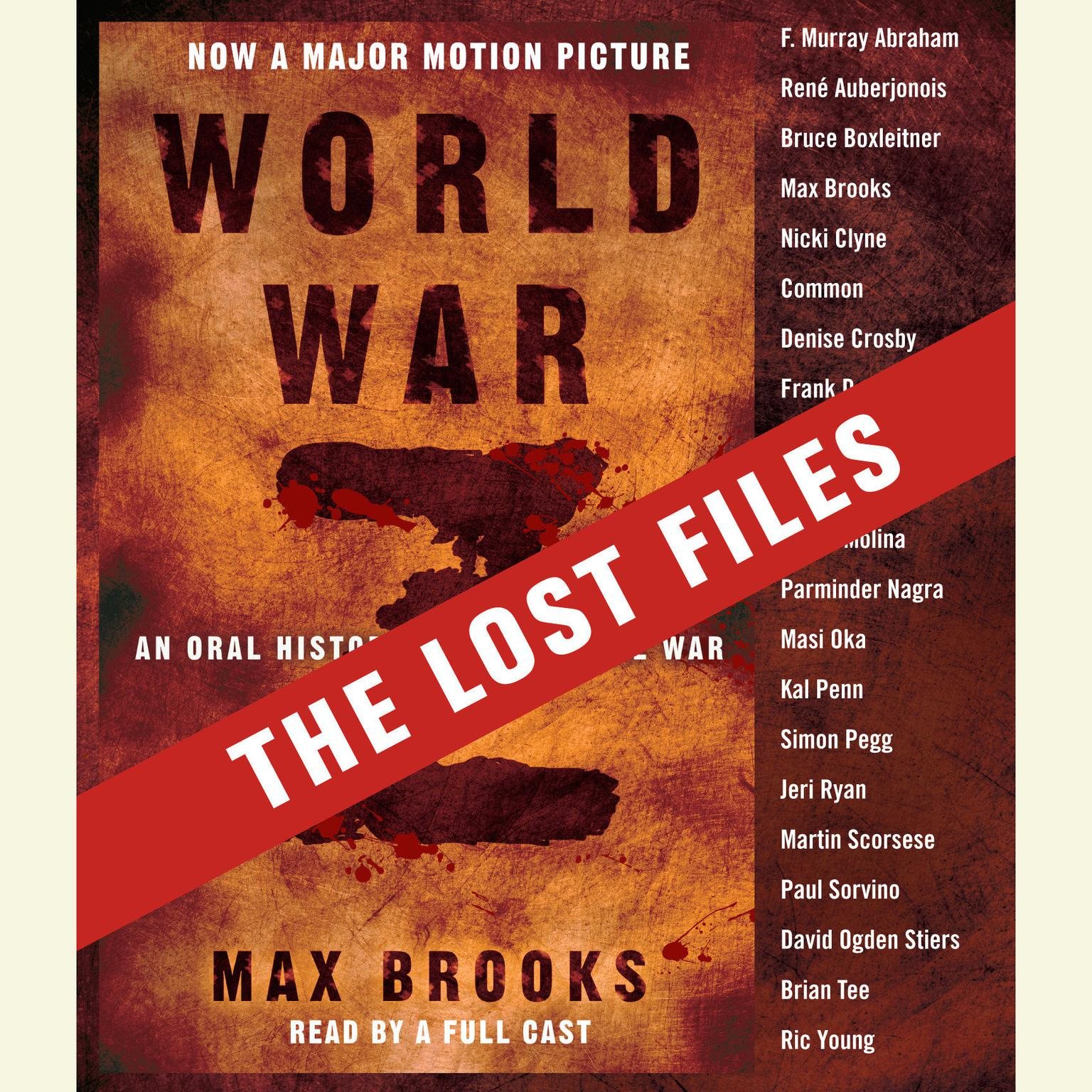 Printable World War Z: The Lost Files: A Companion to the Abridged Edition Audiobook Cover Art