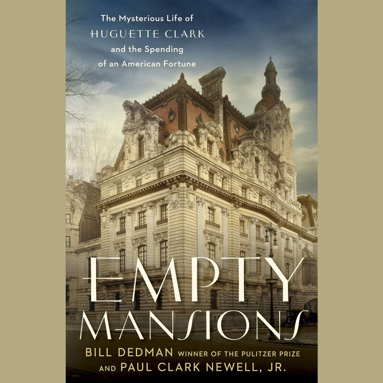 Printable Empty Mansions: The Mysterious Life of Huguette Clark and the Spending of a Great American Fortune Audiobook Cover Art