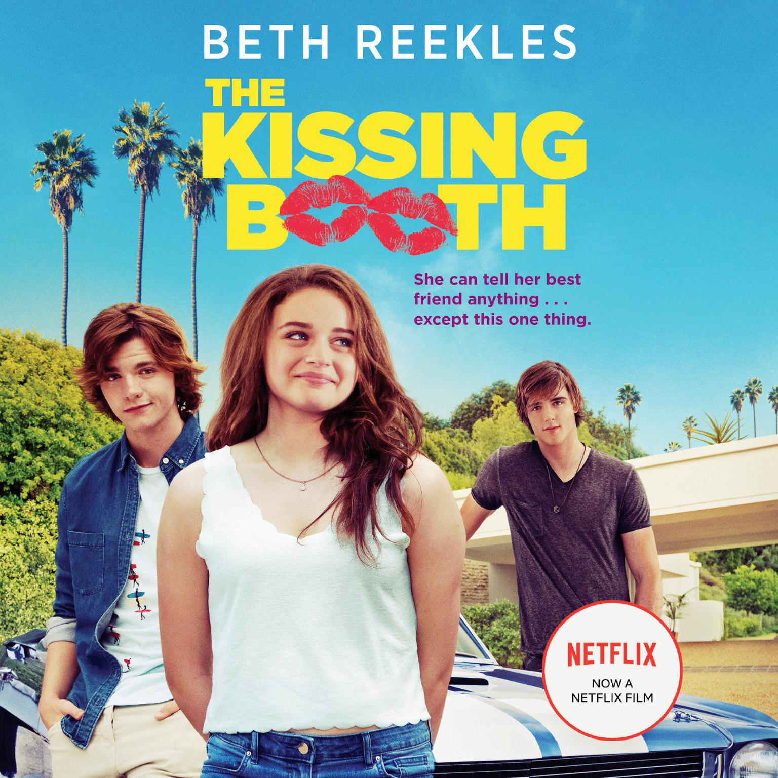 Printable The Kissing Booth Audiobook Cover Art