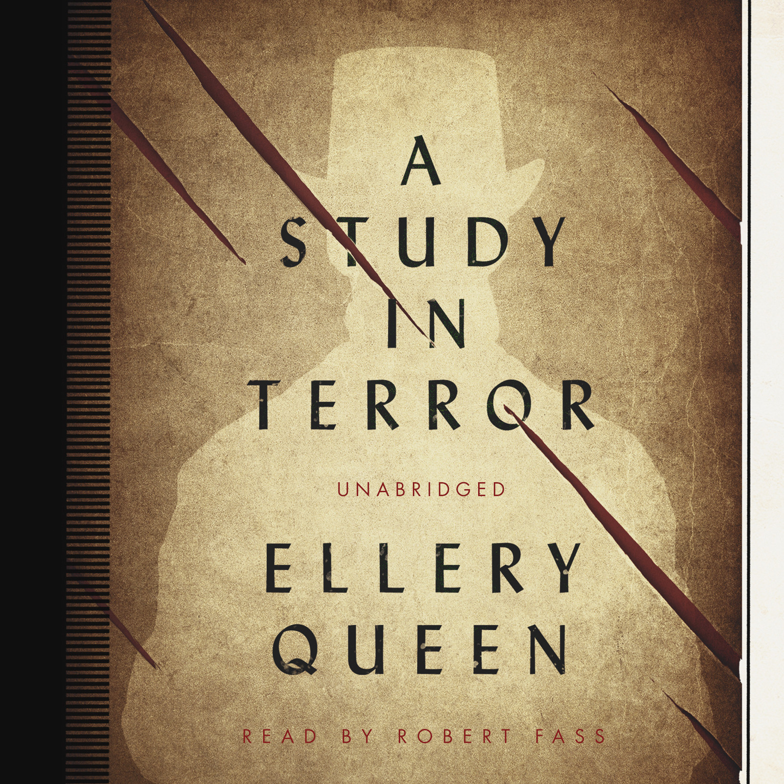 Printable A Study in Terror Audiobook Cover Art