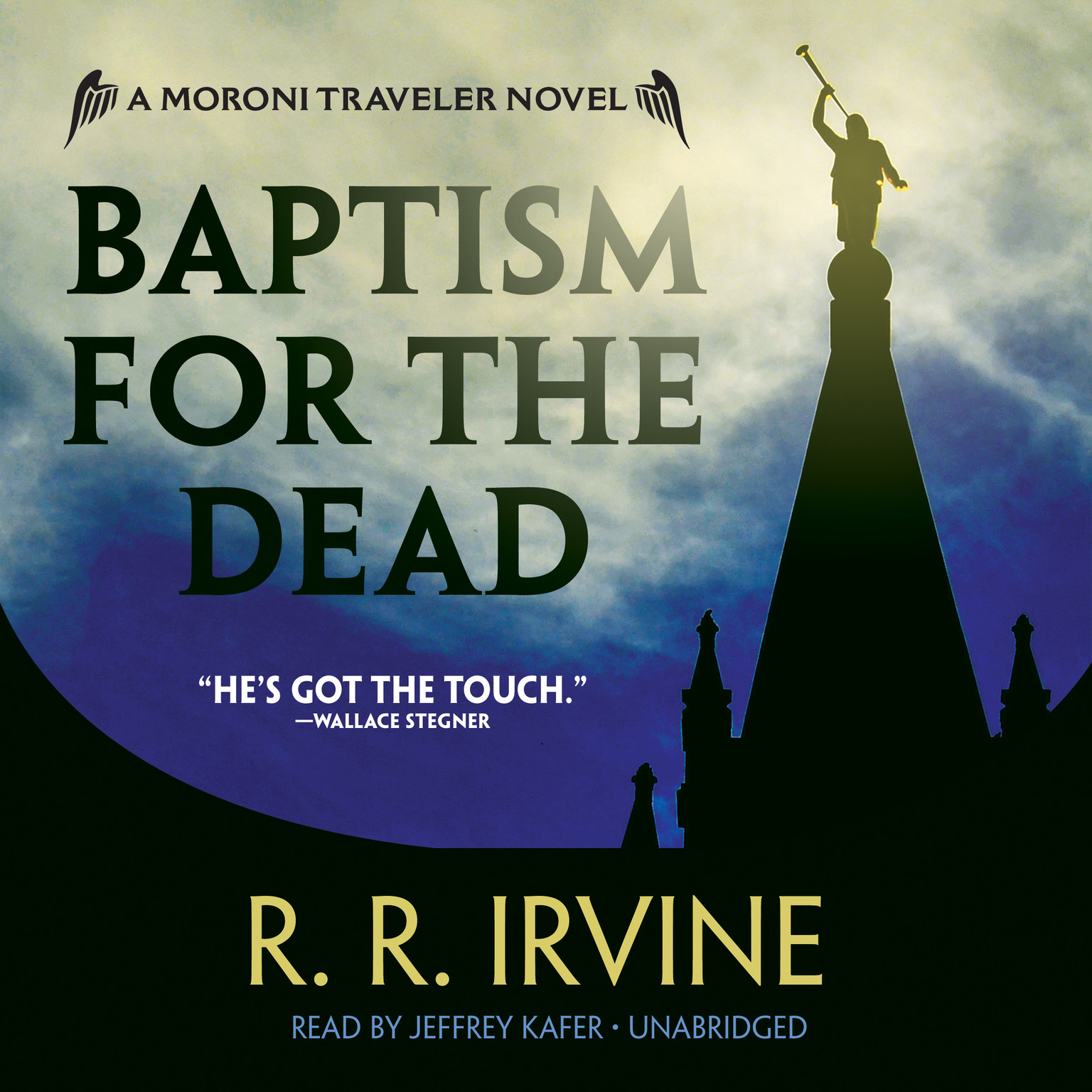 Printable Baptism for the Dead: A Moroni Traveler Novel Audiobook Cover Art