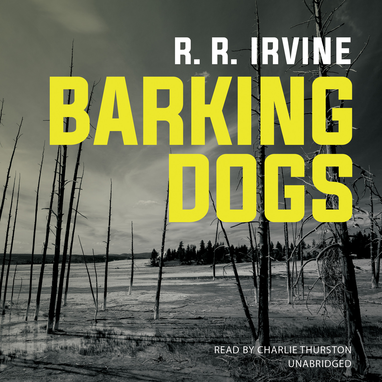 Printable Barking Dogs Audiobook Cover Art