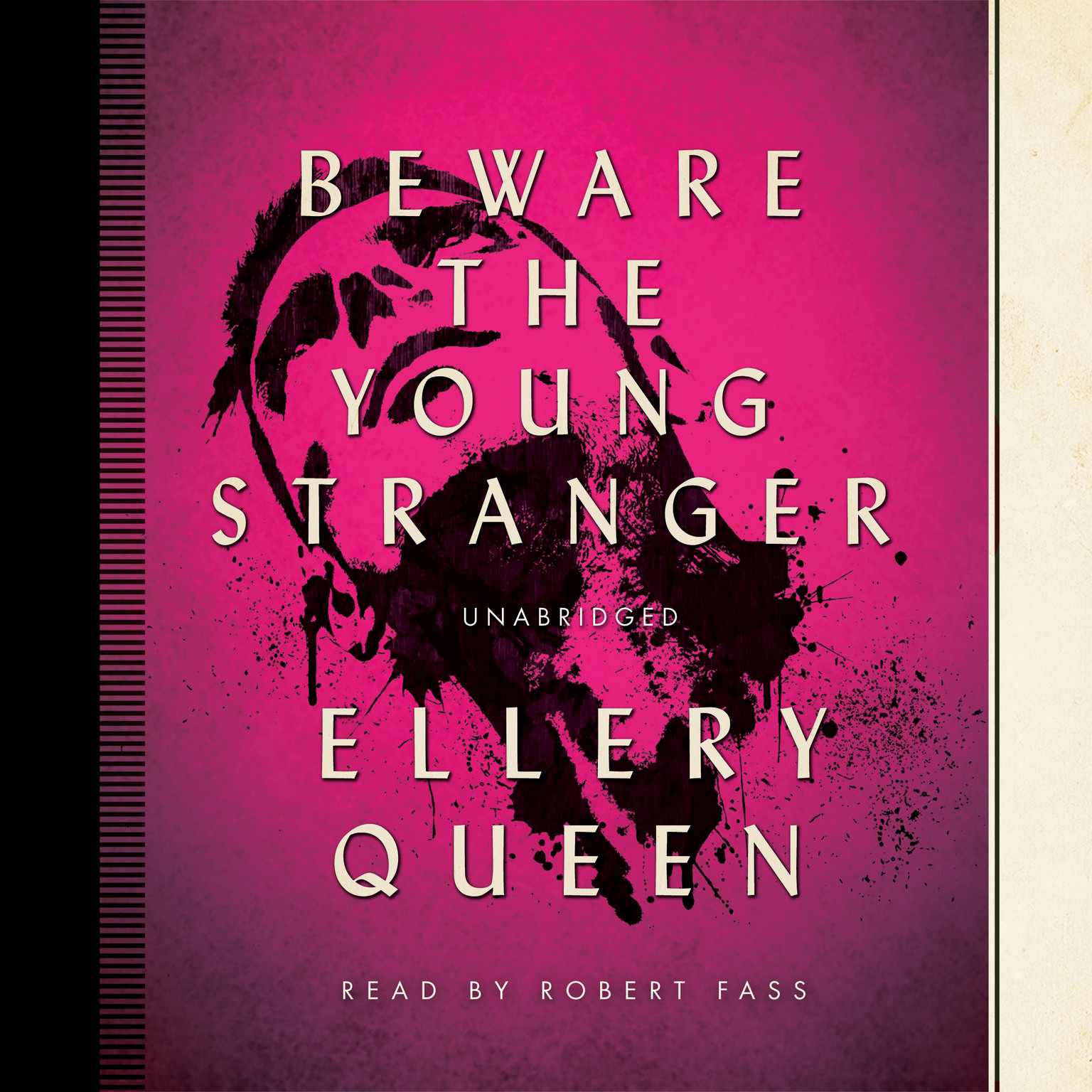 Printable Beware the Young Stranger Audiobook Cover Art