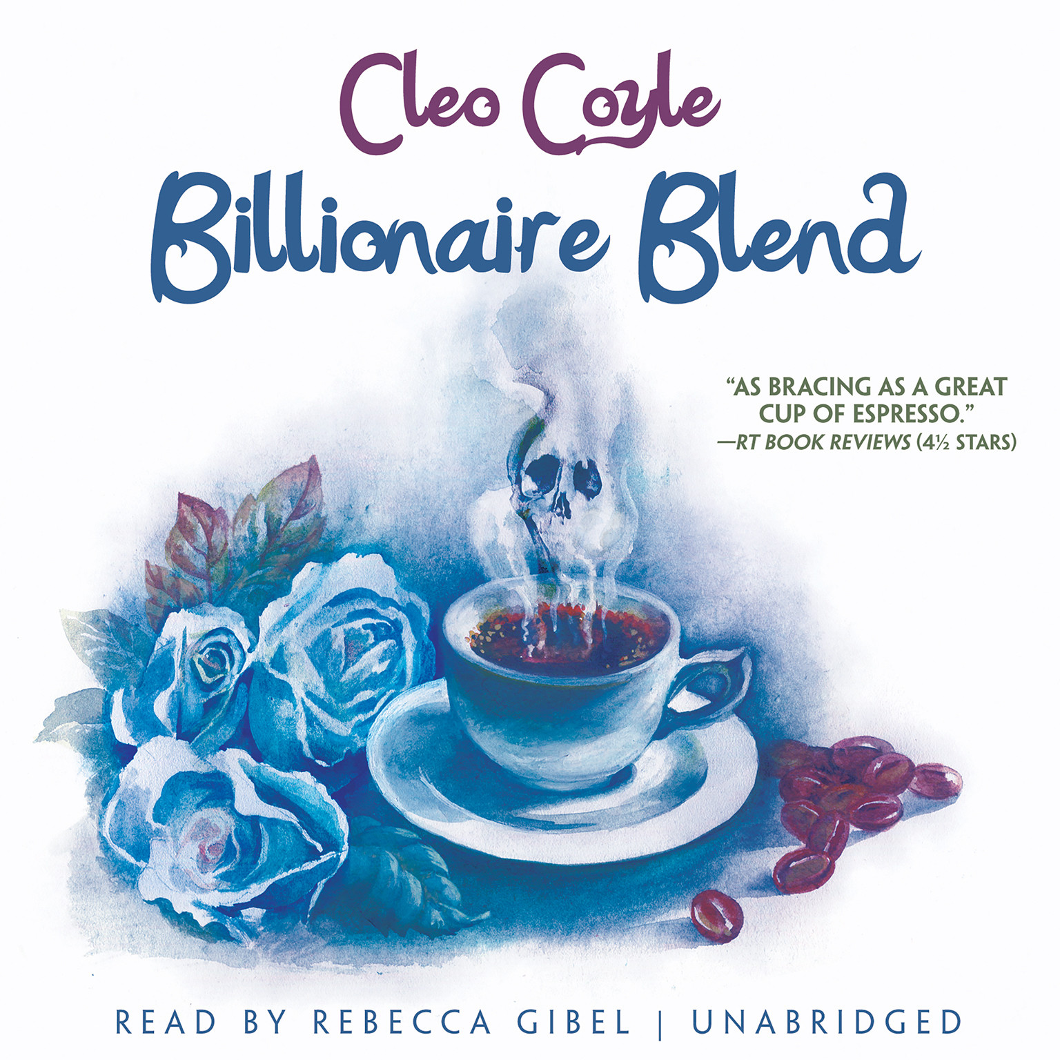 Printable Billionaire Blend Audiobook Cover Art