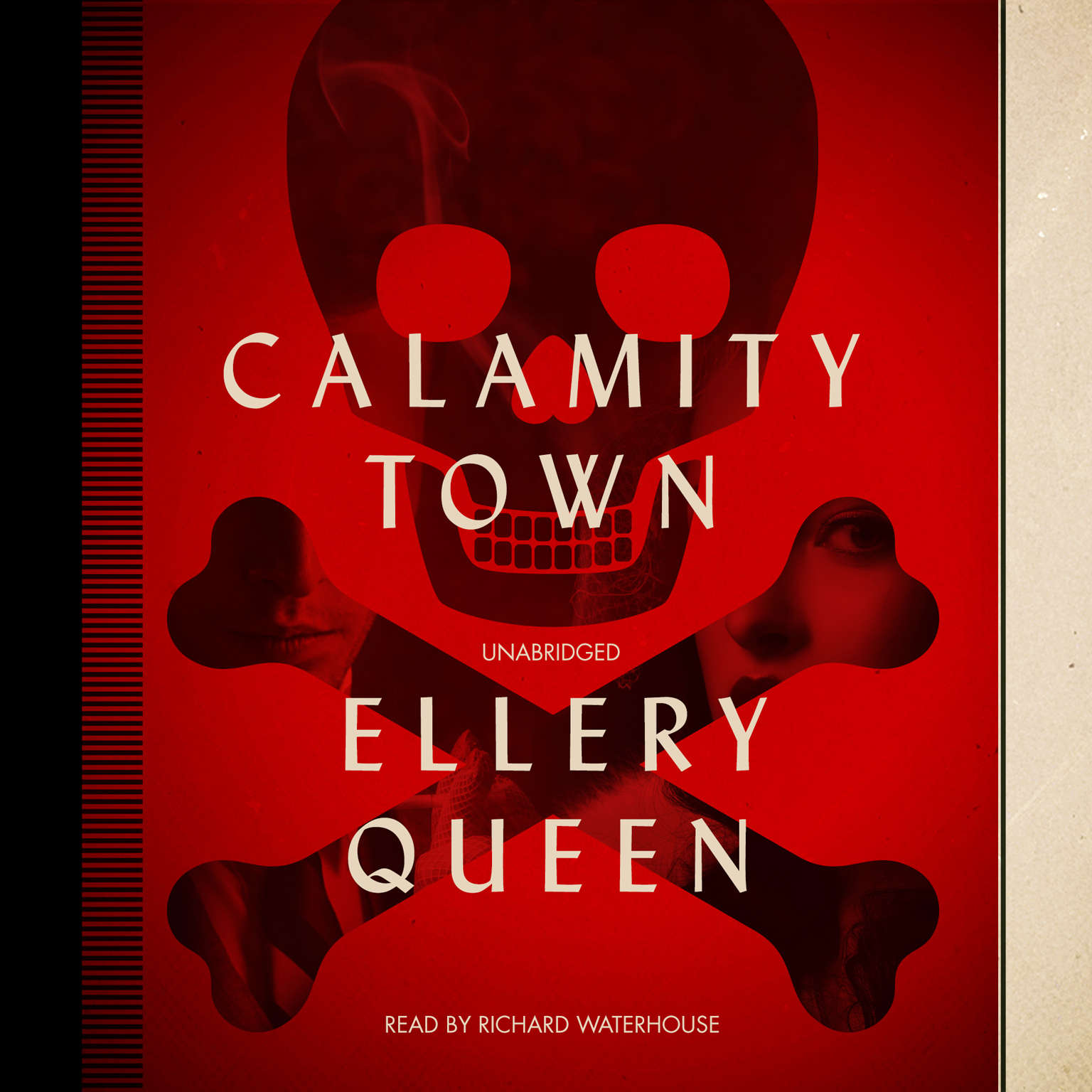 Printable Calamity Town Audiobook Cover Art