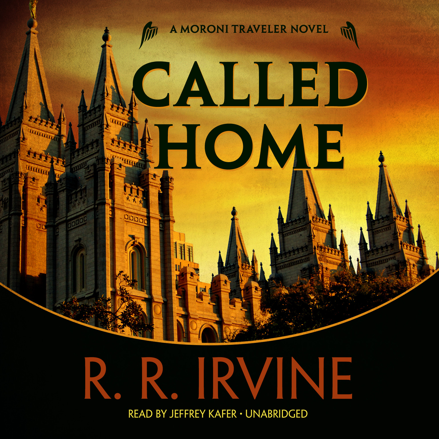 Printable Called Home: A Moroni Traveler Novel Audiobook Cover Art